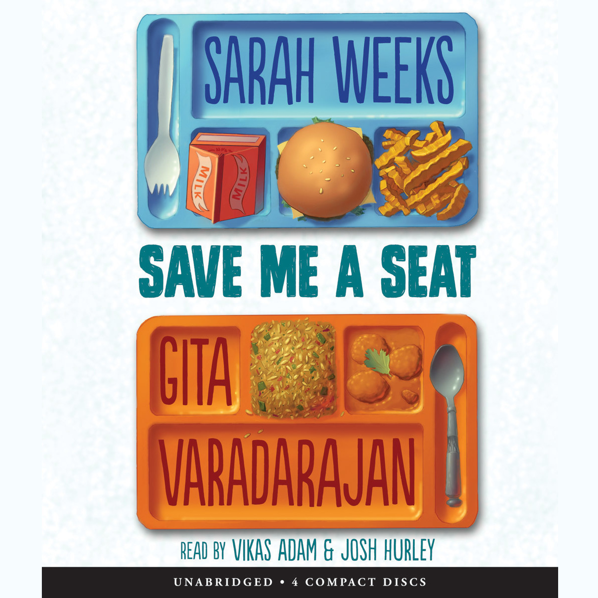 Printable Save Me a Seat Audiobook Cover Art