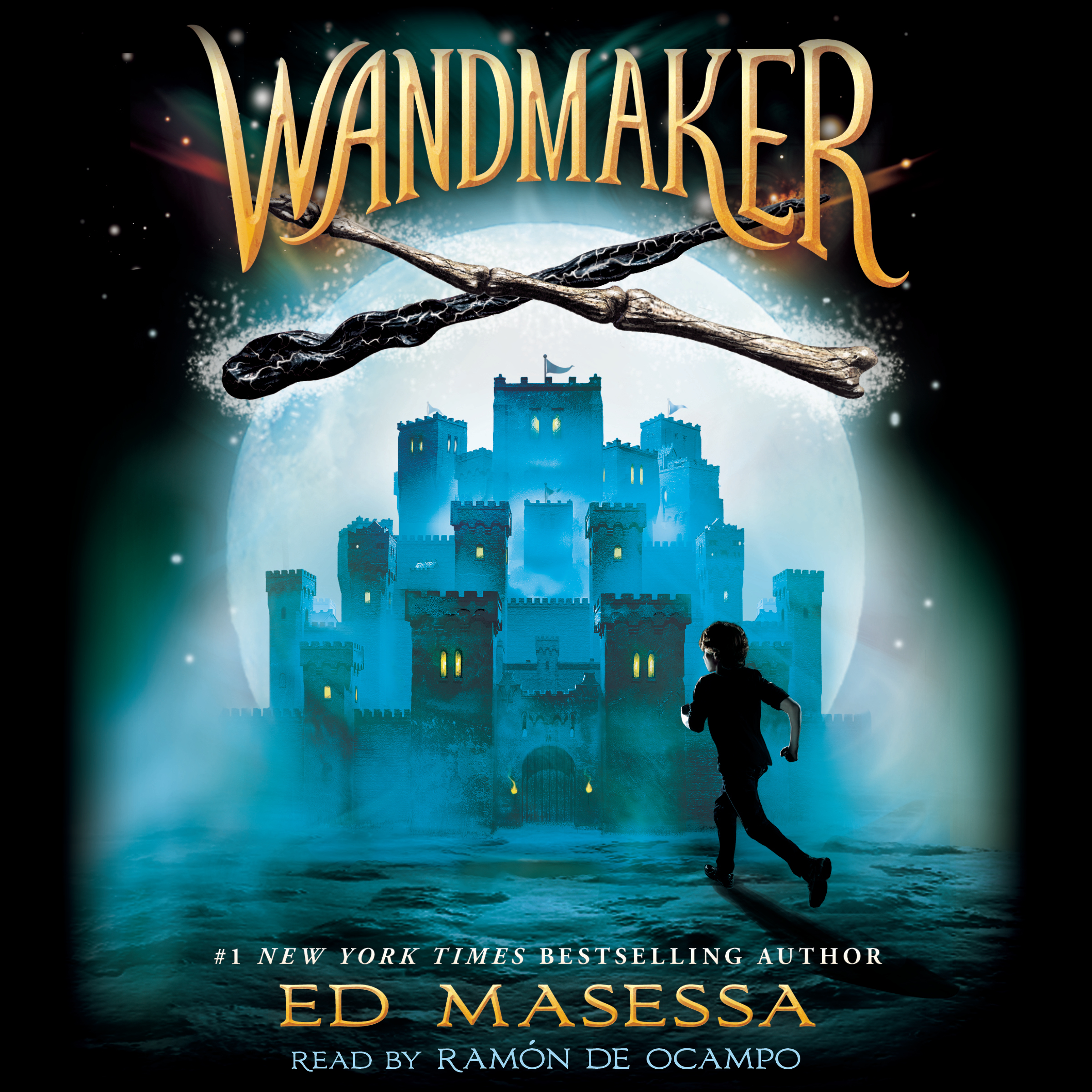Printable Wandmaker Audiobook Cover Art