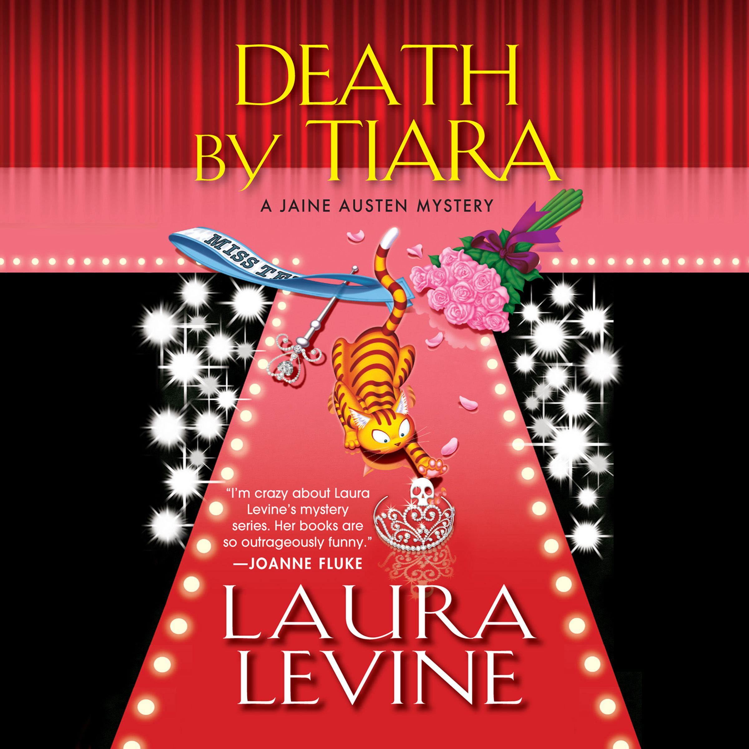 Printable Death by Tiara: A Jaine Austen Mystery Audiobook Cover Art