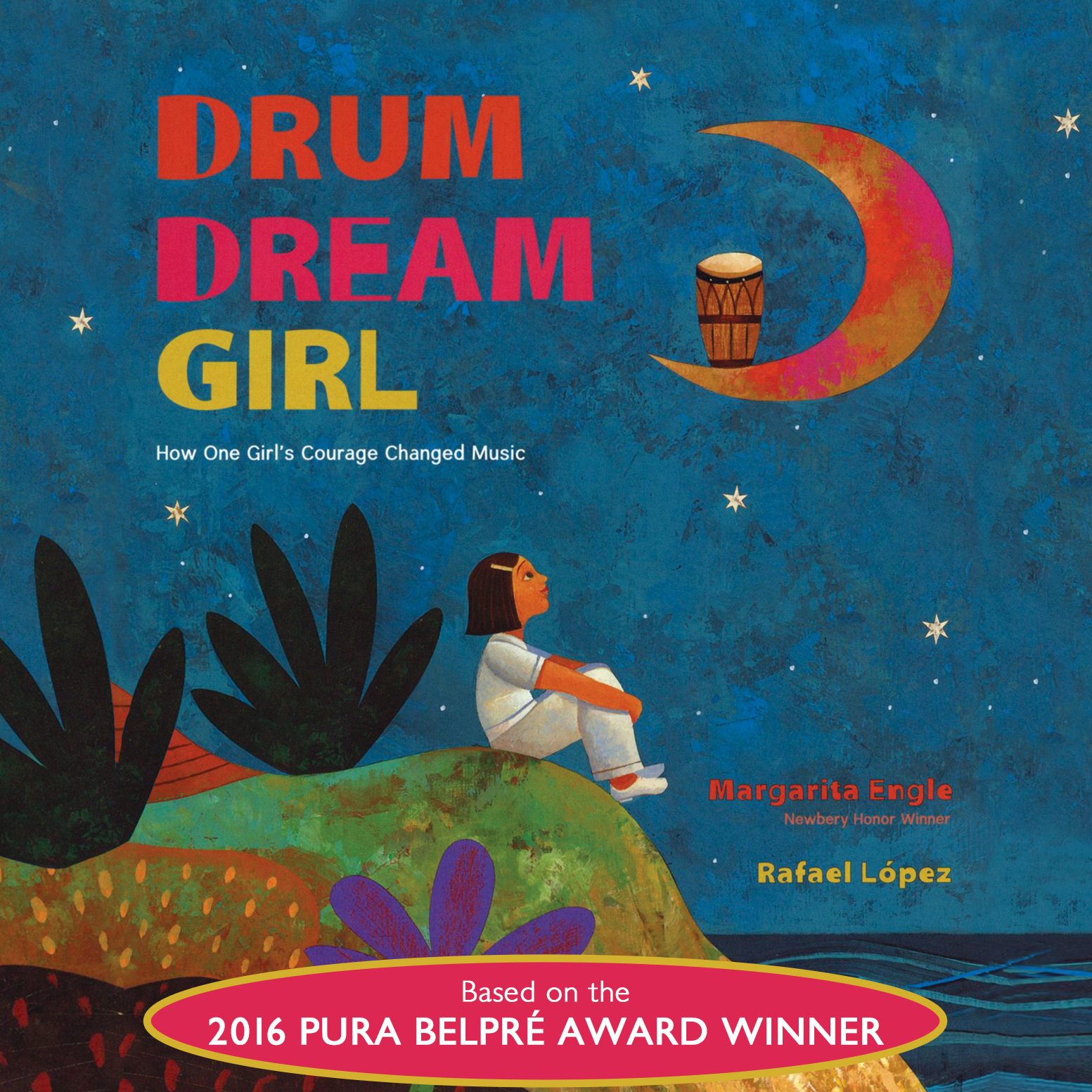 Printable Drum Dream Girl: How One Girl's Courage Changed Music Audiobook Cover Art