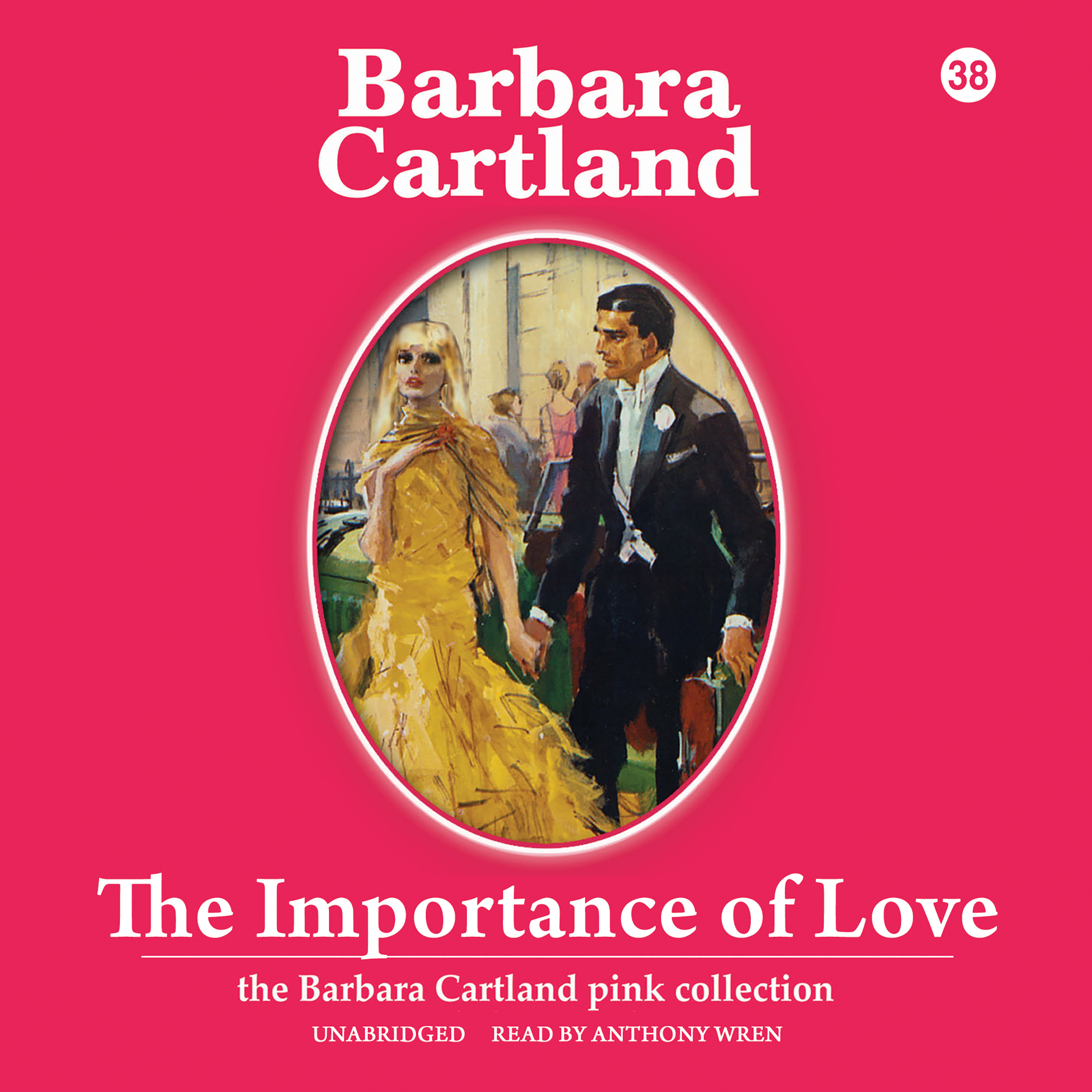 Printable The Importance of Love Audiobook Cover Art