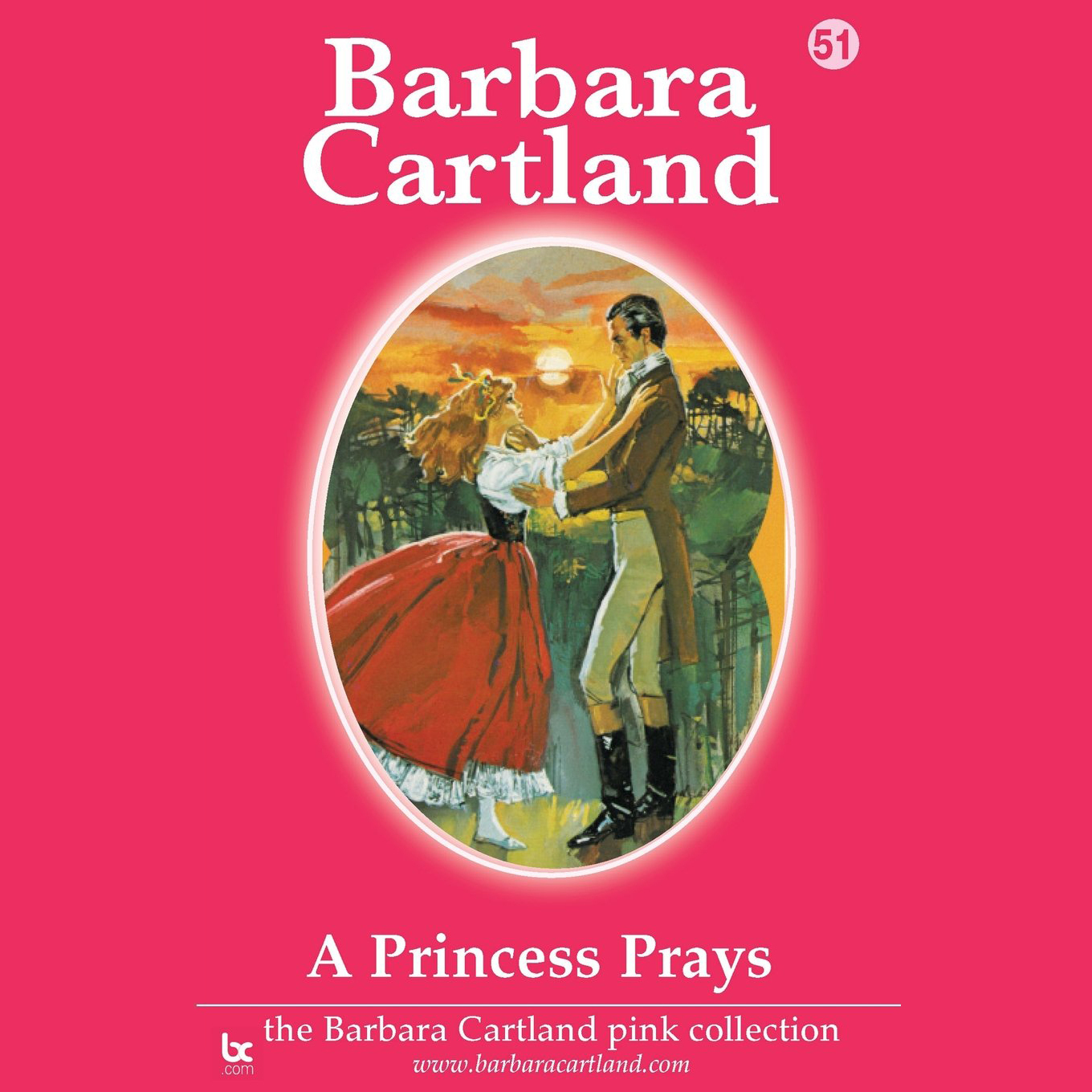 Printable A Princess Prays: The Barbara Cartland Pink Series, Book 51  Audiobook Cover Art