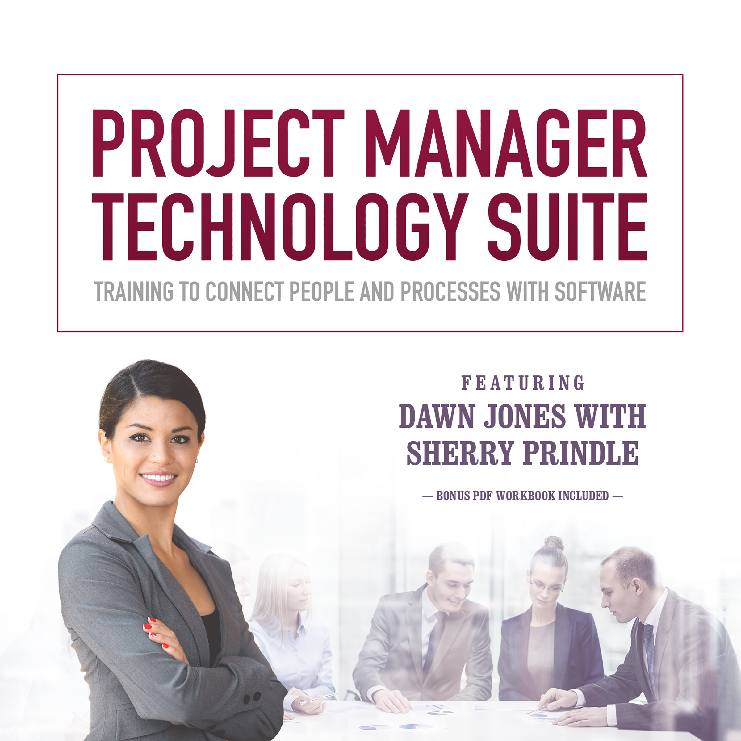 Printable Project Manager Technology Suite: Training to Connect People and Processes with Software Audiobook Cover Art