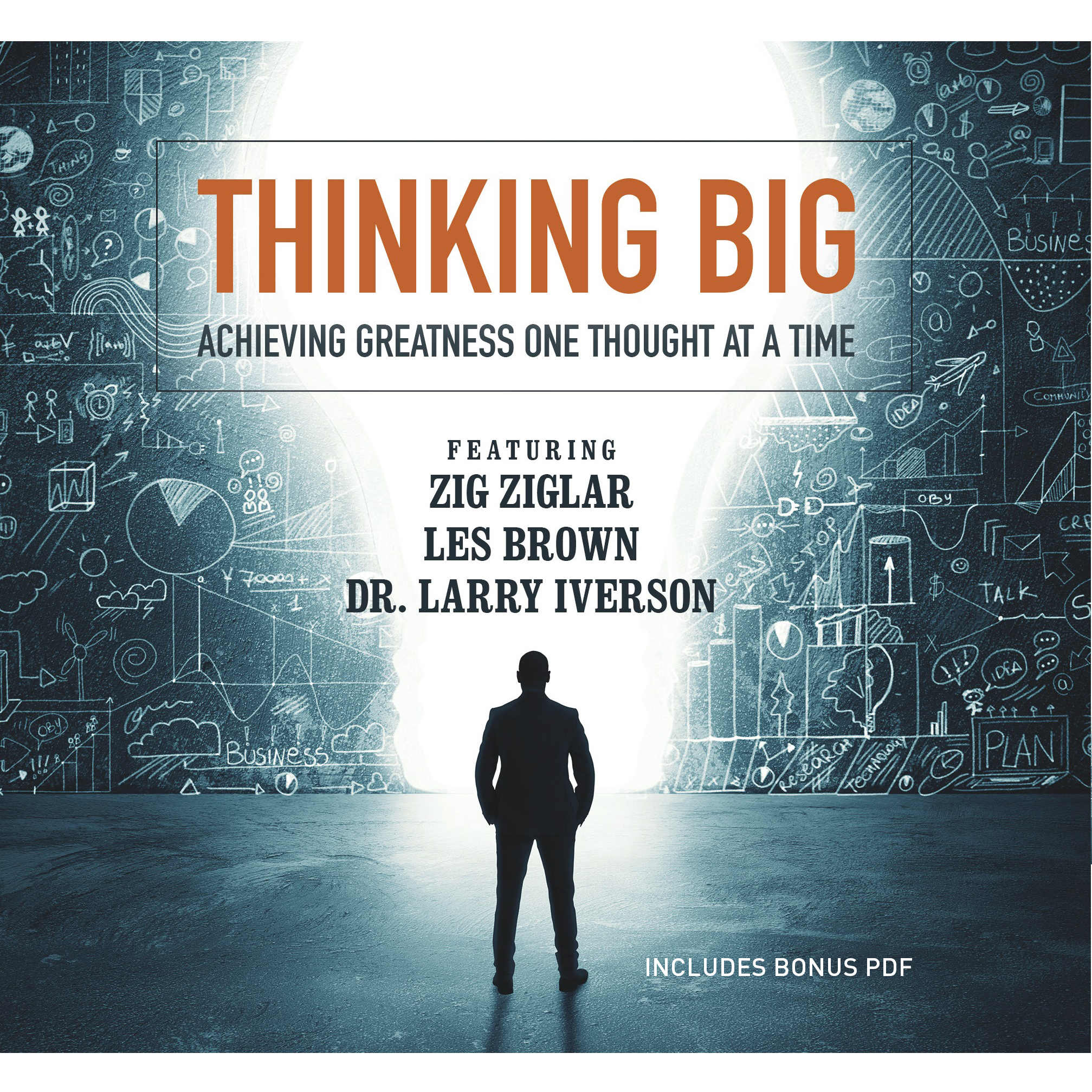 Printable Thinking Big: Achieving Greatness One Thought at a Time Audiobook Cover Art