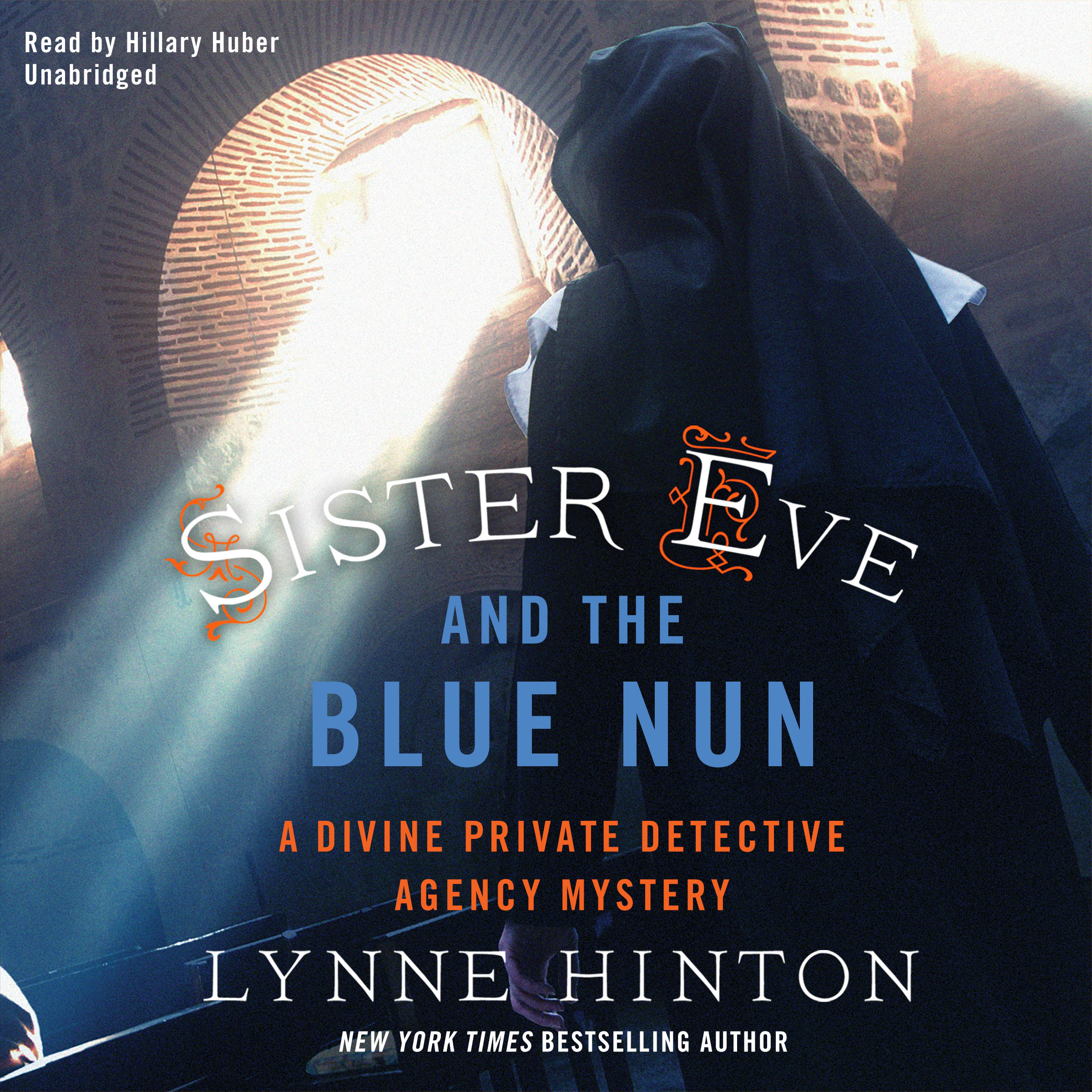 Printable Sister Eve and the Blue Nun: A Divine Private Detective Agency Mystery Audiobook Cover Art