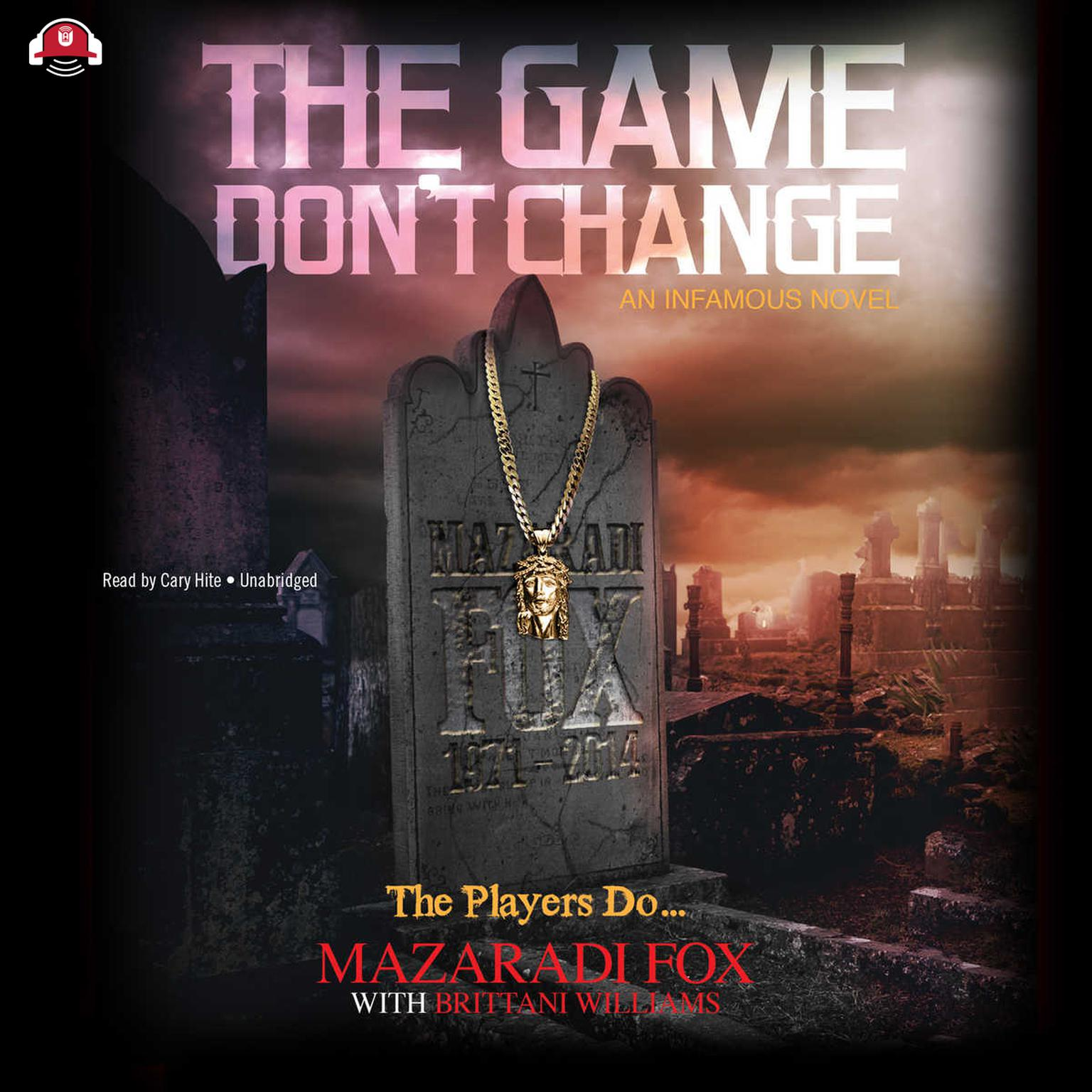 Printable The Game Don't Change Audiobook Cover Art