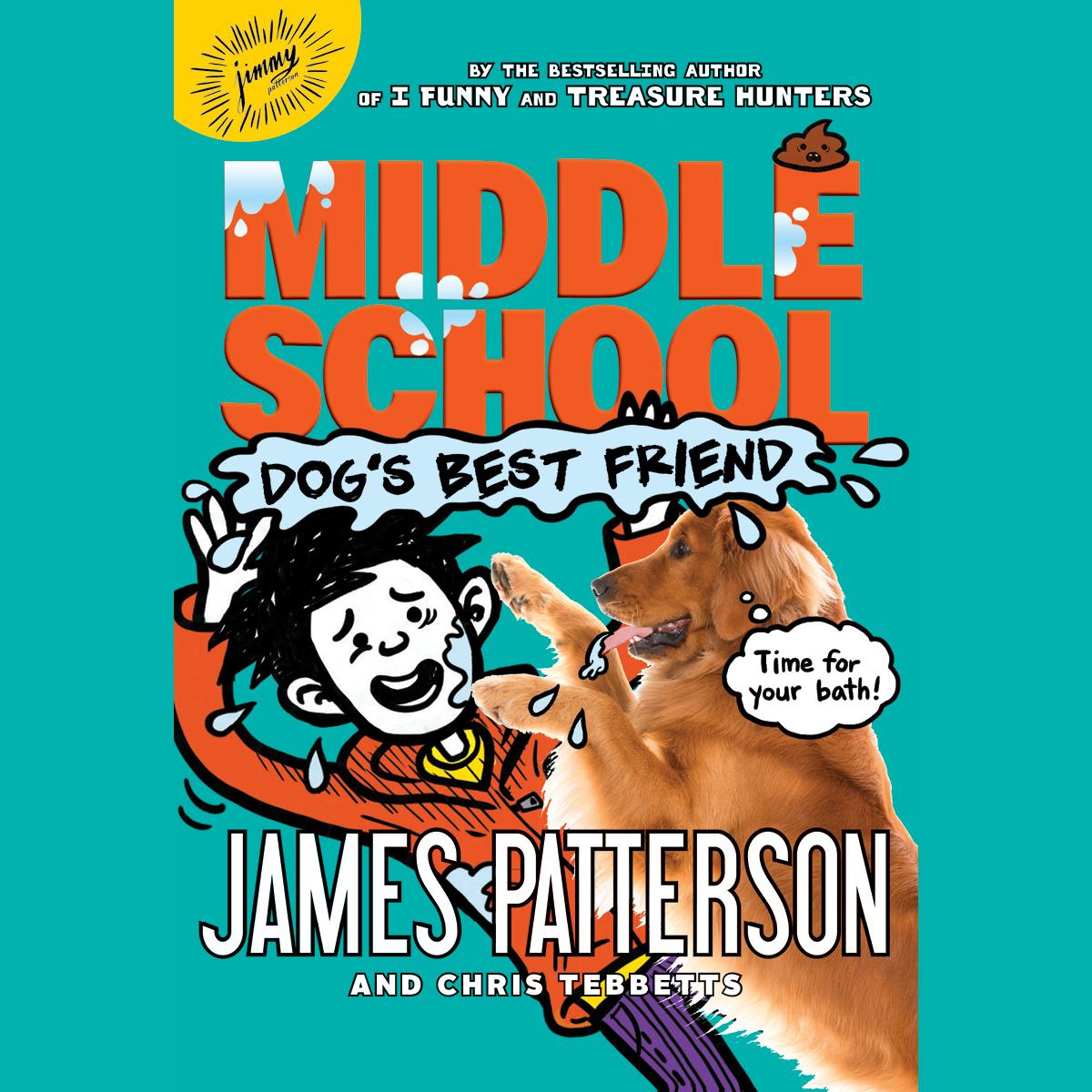 Printable Middle School: Dog's Best Friend Audiobook Cover Art