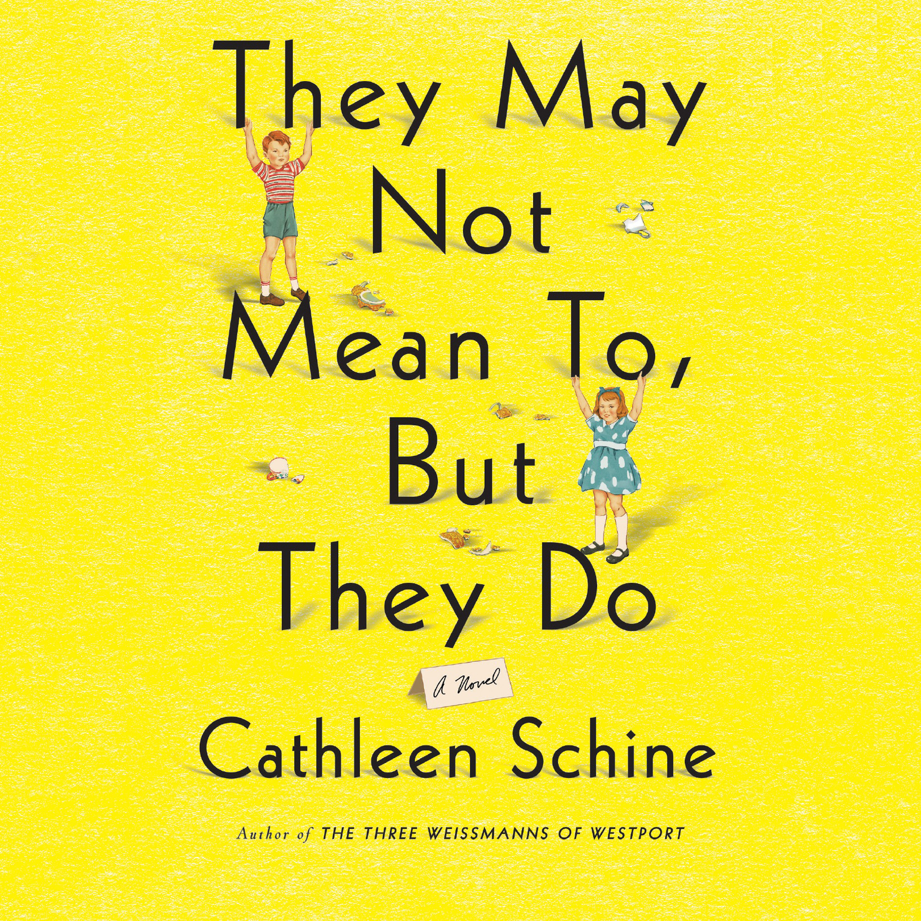 Printable They May Not Mean To, But They Do: A Novel Audiobook Cover Art