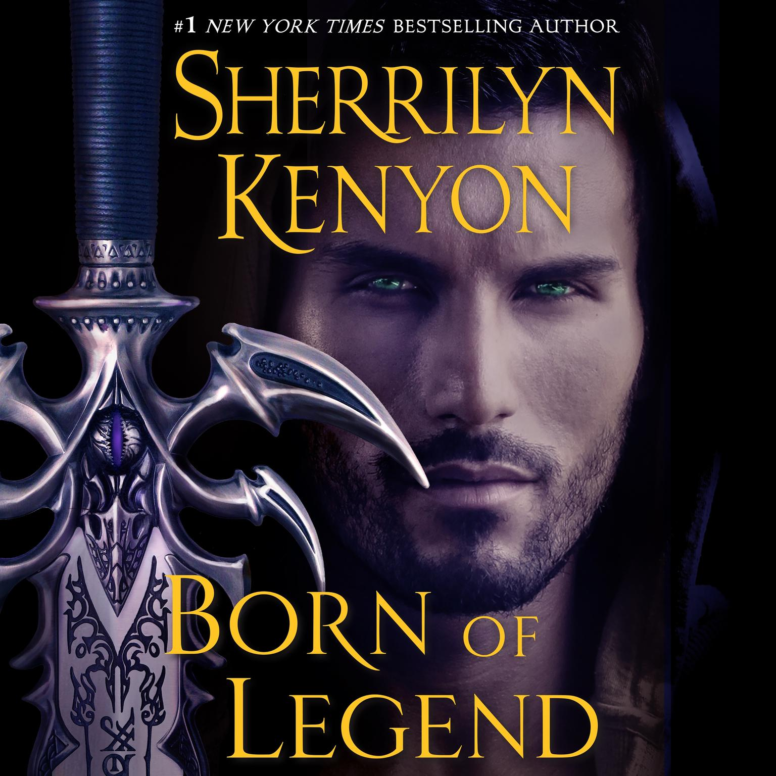 Printable Born of Legend: The League Nemesis Rising Audiobook Cover Art