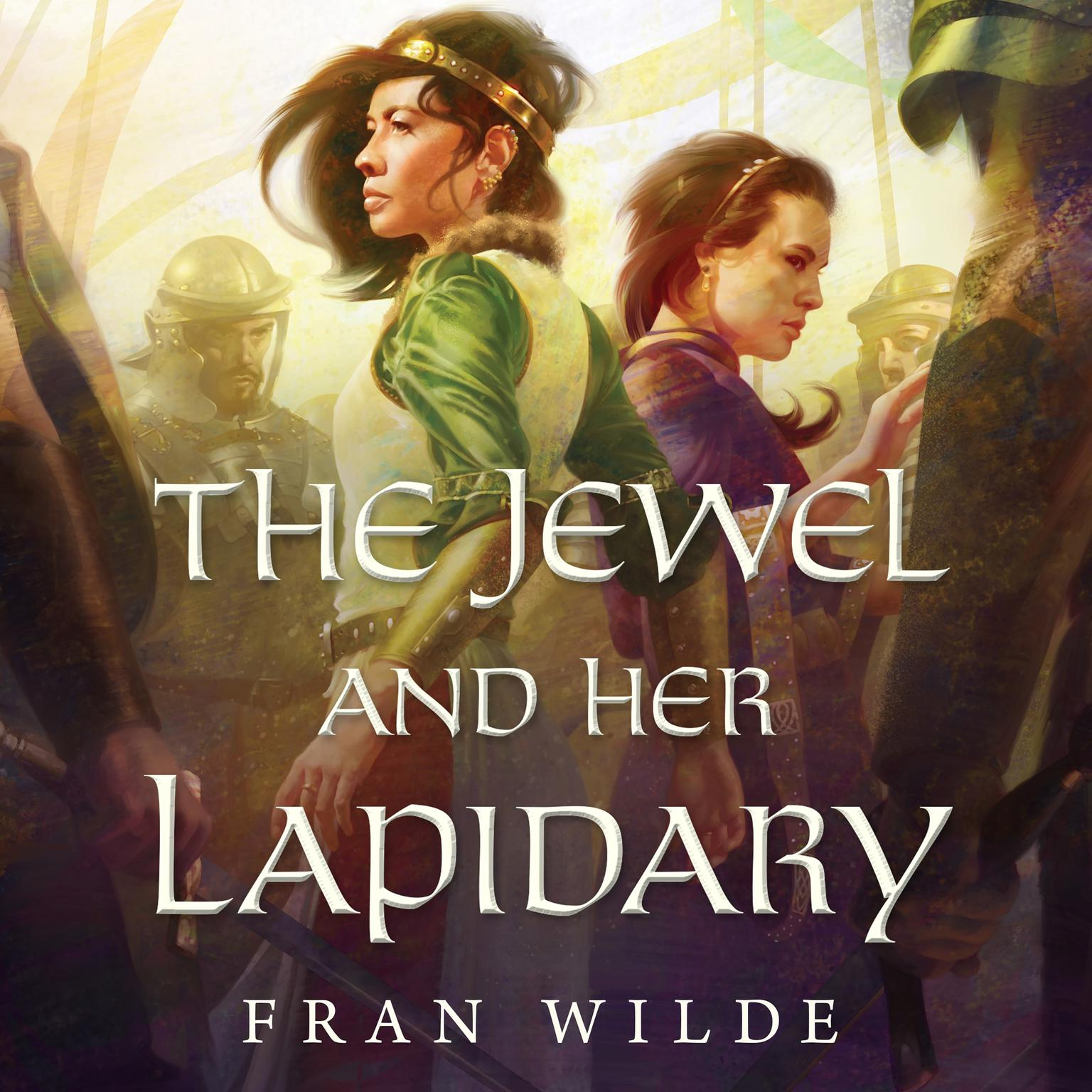 Printable The Jewel and Her Lapidary Audiobook Cover Art