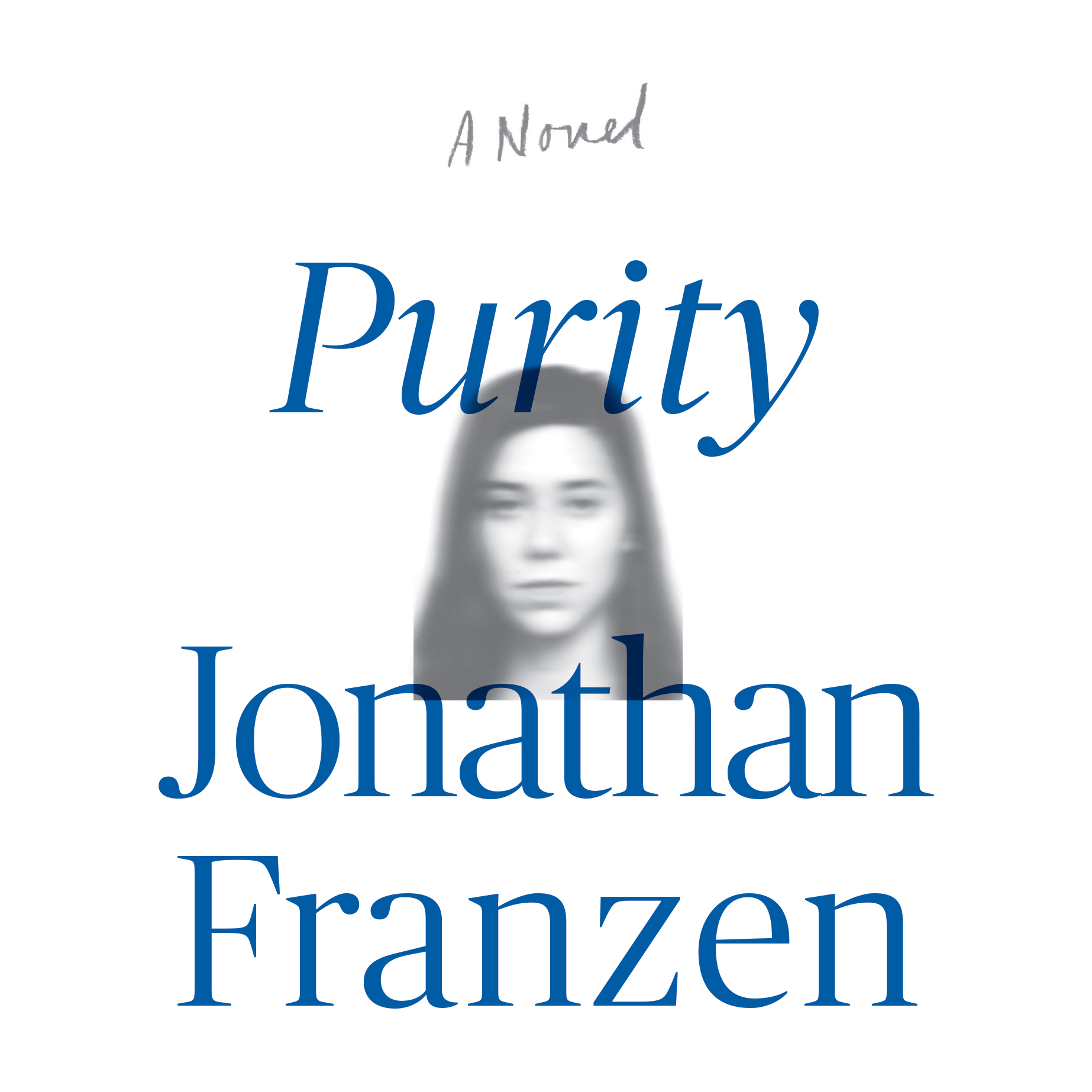 Printable Purity: A Novel Audiobook Cover Art