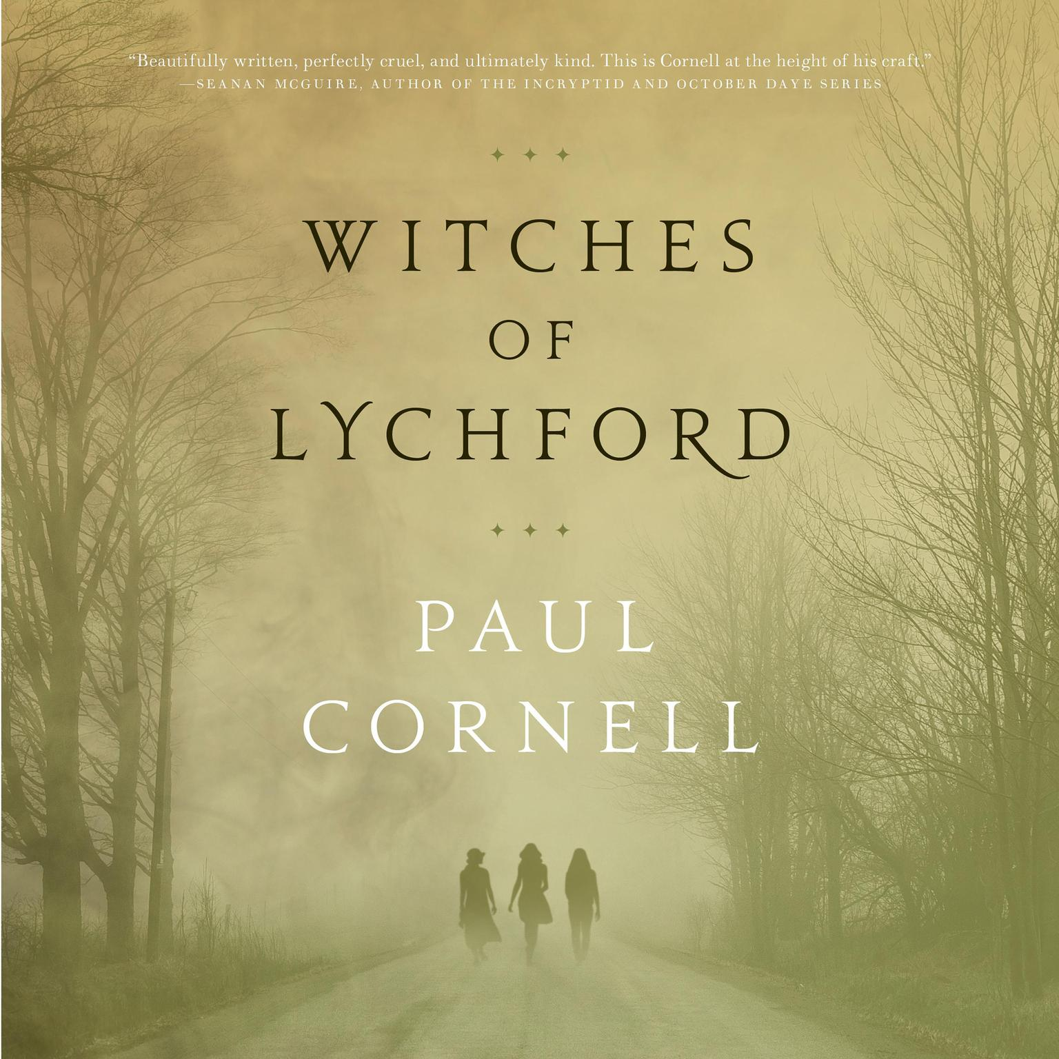 Printable Witches of Lychford Audiobook Cover Art