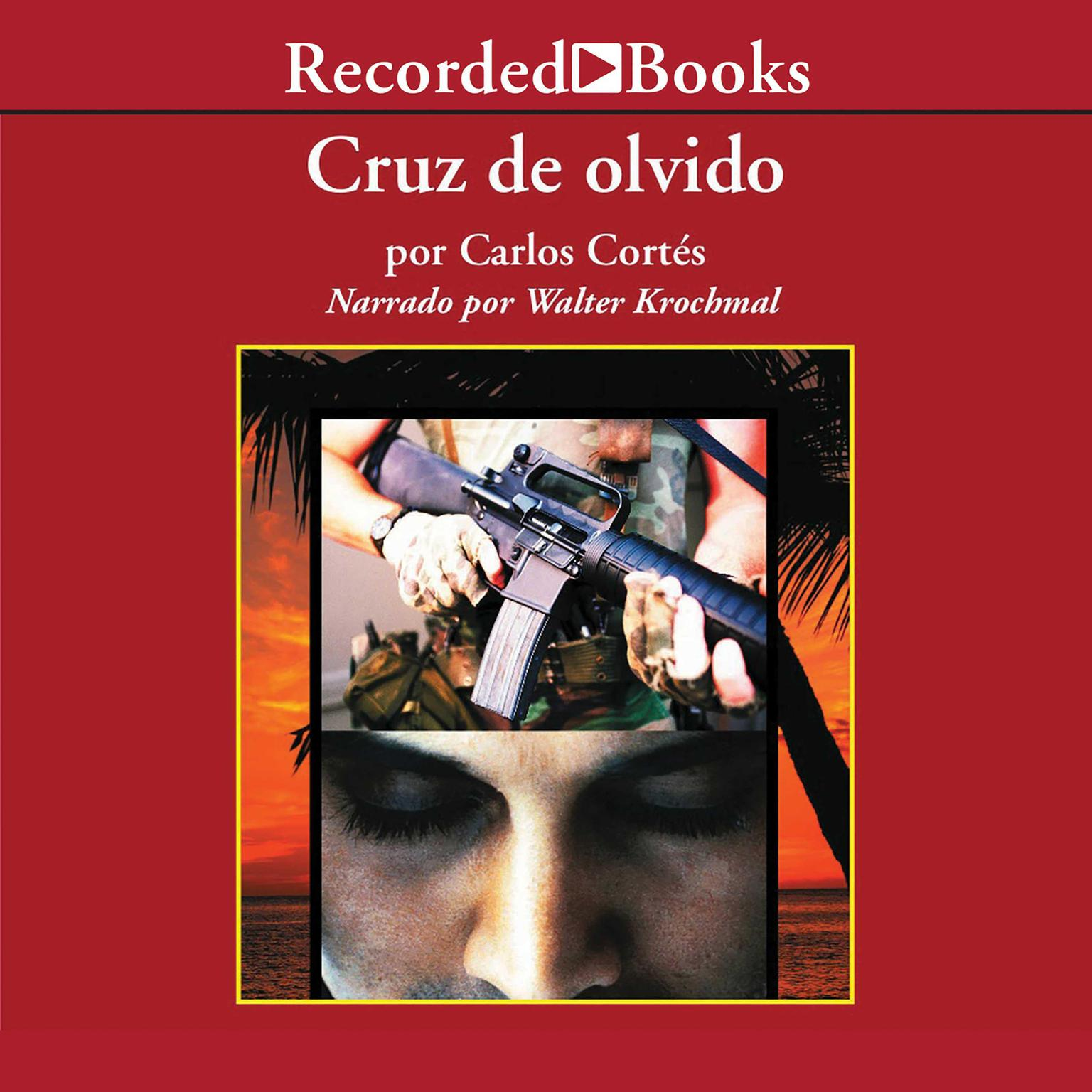 Printable Cruz de olvido Audiobook Cover Art