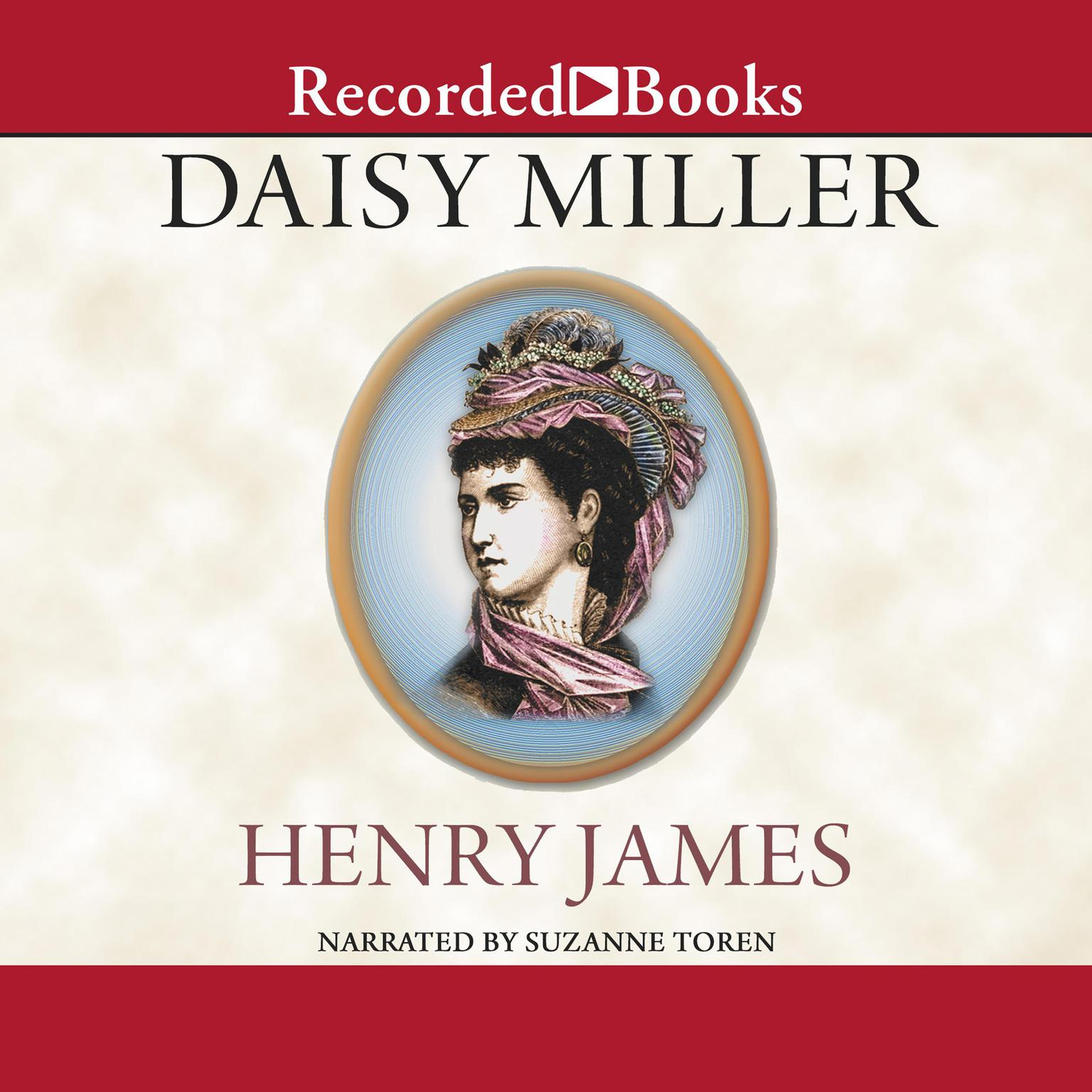 Printable Daisy Miller Audiobook Cover Art