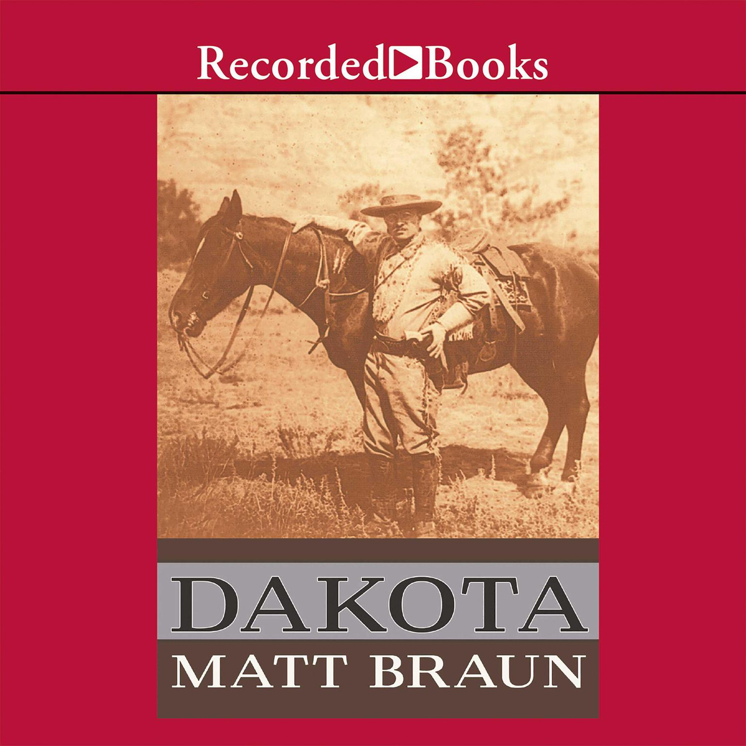 Printable Dakota Audiobook Cover Art