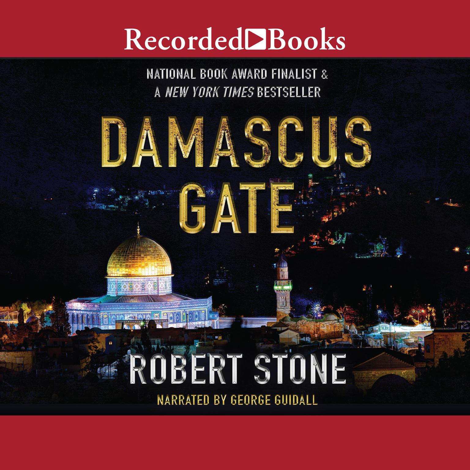 Printable Damascus Gate Audiobook Cover Art