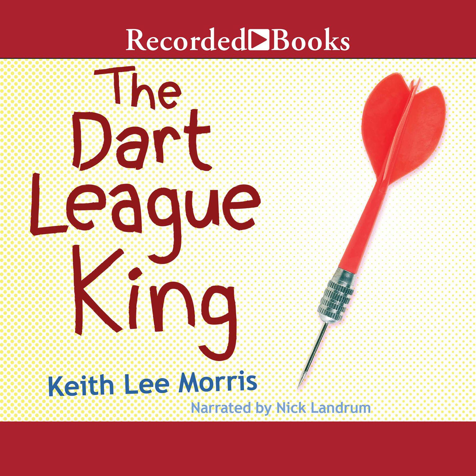 Printable The Dart League King Audiobook Cover Art