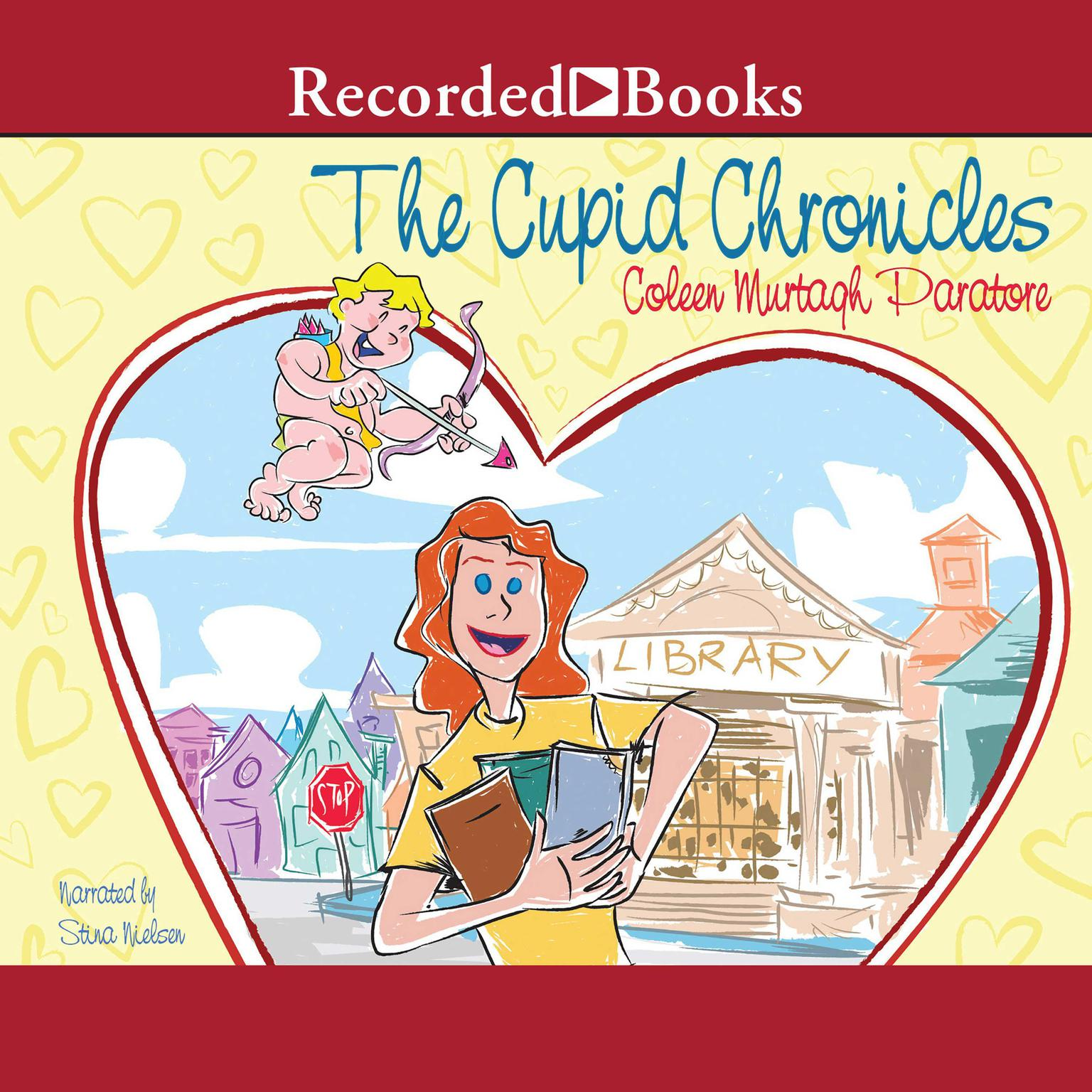 Printable The Cupid Chronicles Audiobook Cover Art