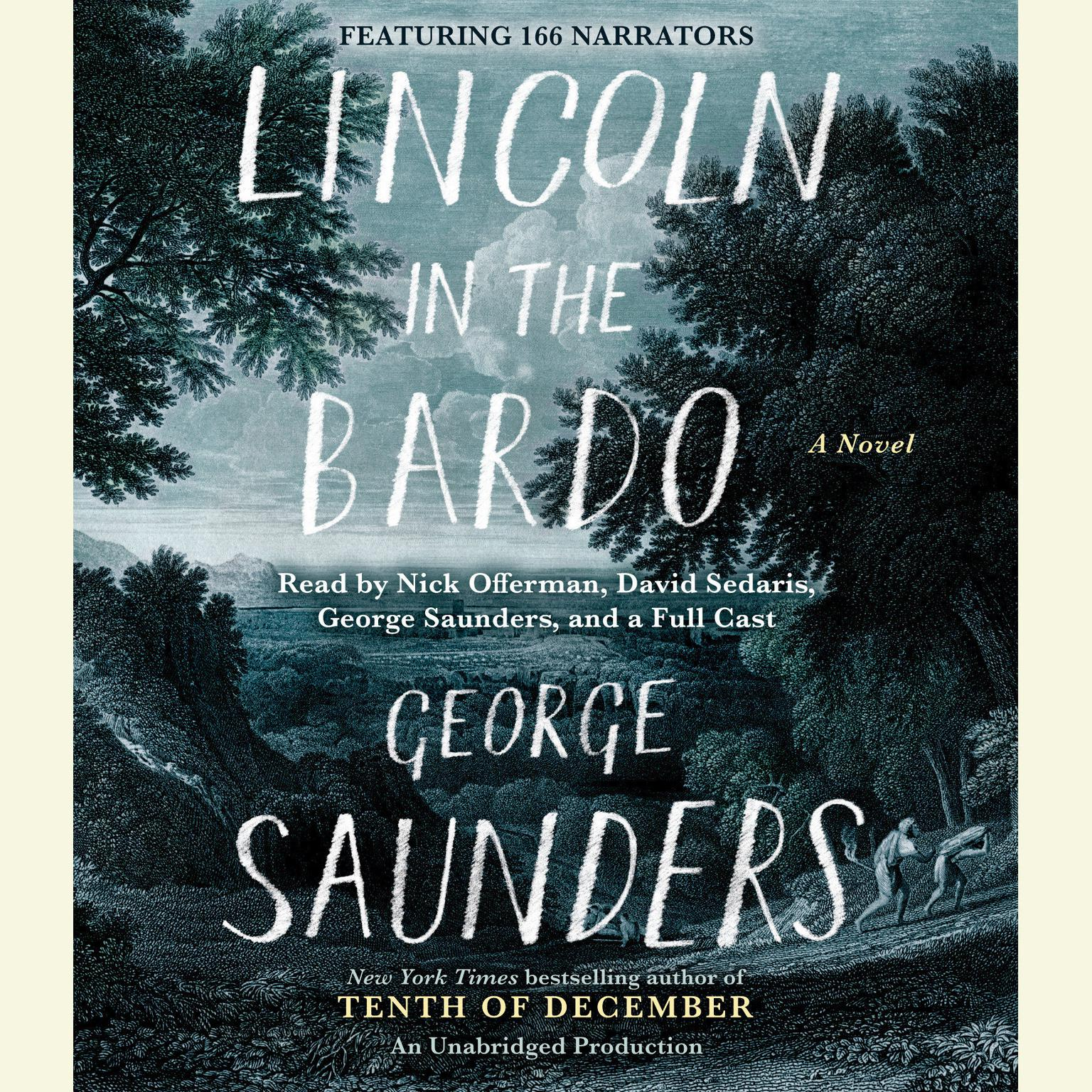 Printable Lincoln in the Bardo: A Novel Audiobook Cover Art