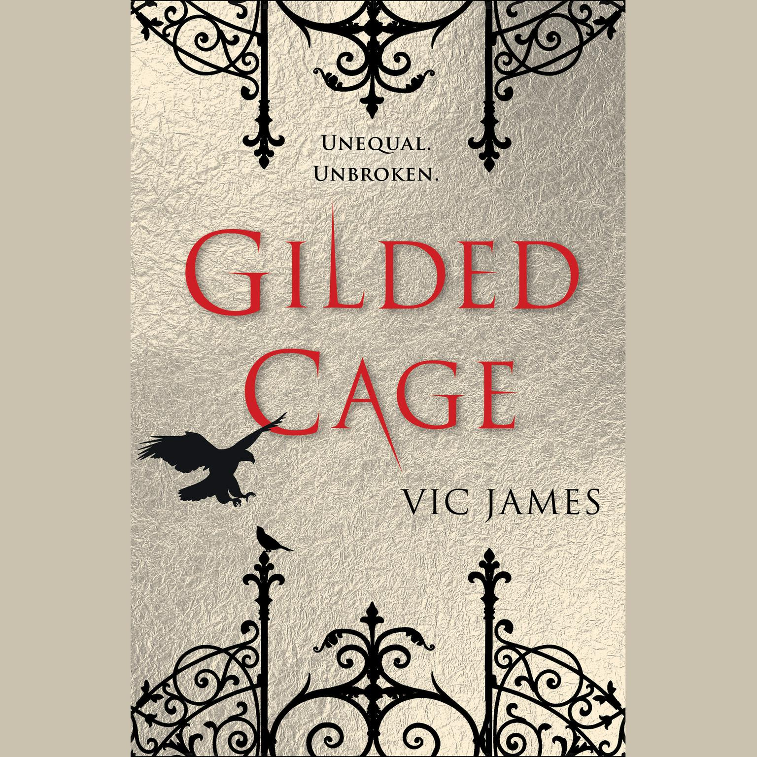 Printable Gilded Cage Audiobook Cover Art