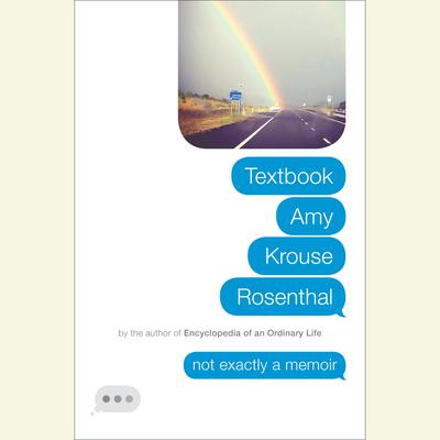 Textbook Amy Krouse Rosenthal: Not Exactly a Memoir Audiobook, by Amy  Krouse Rosenthal