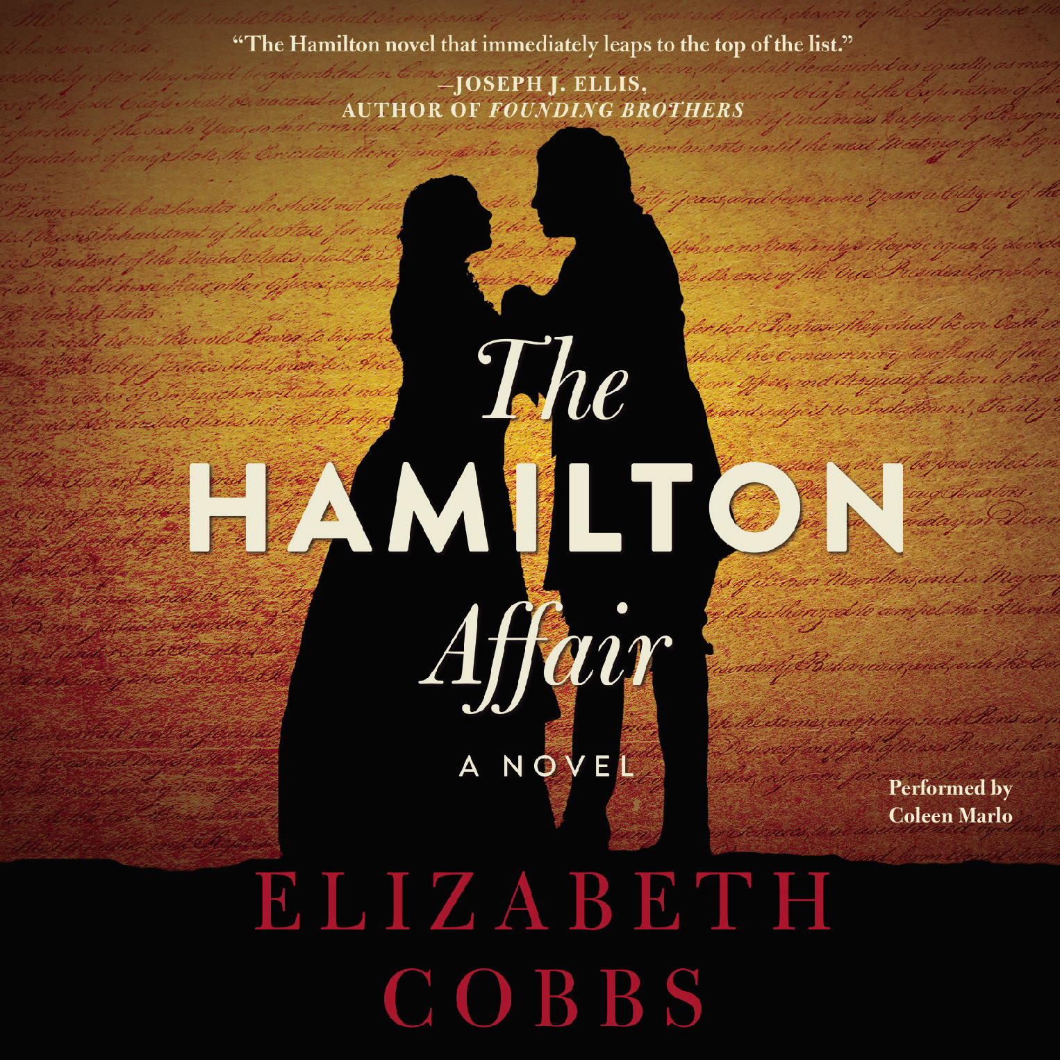 Printable The Hamilton Affair: A Novel Audiobook Cover Art