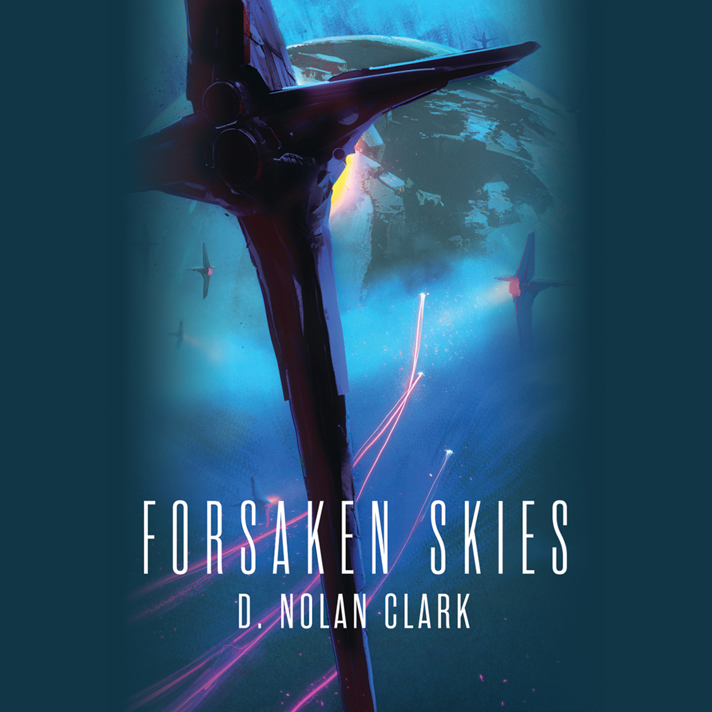 Printable Forsaken Skies Audiobook Cover Art