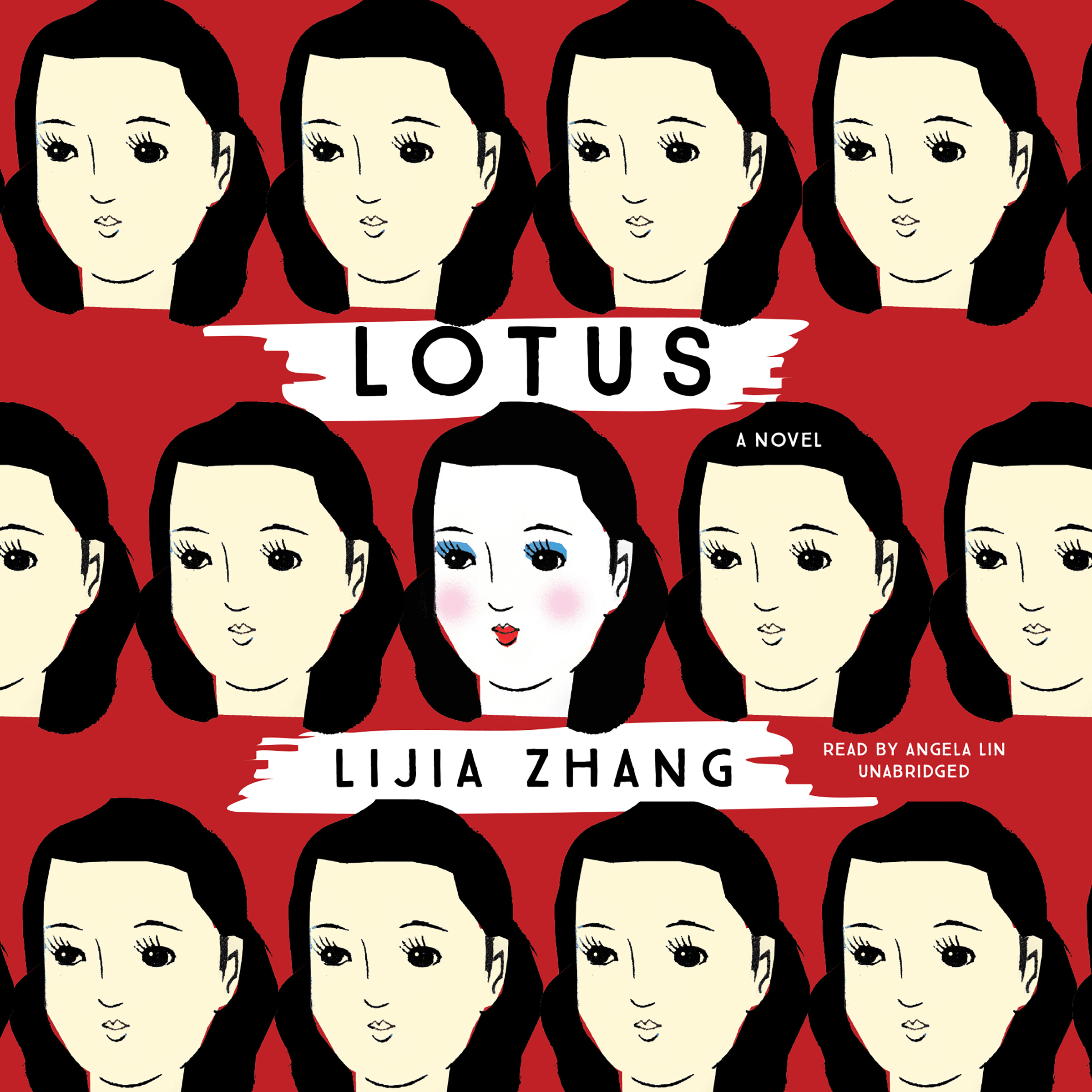 Printable Lotus: A Novel Audiobook Cover Art