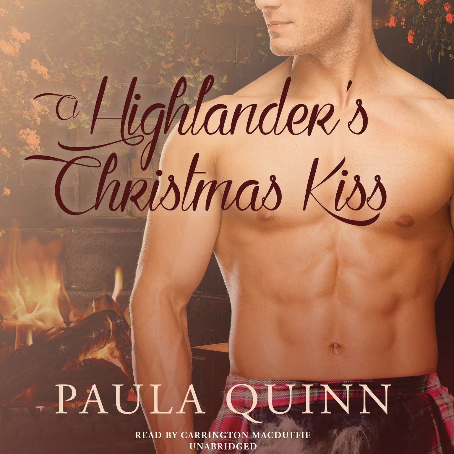 Printable A Highlander's Christmas Kiss Audiobook Cover Art