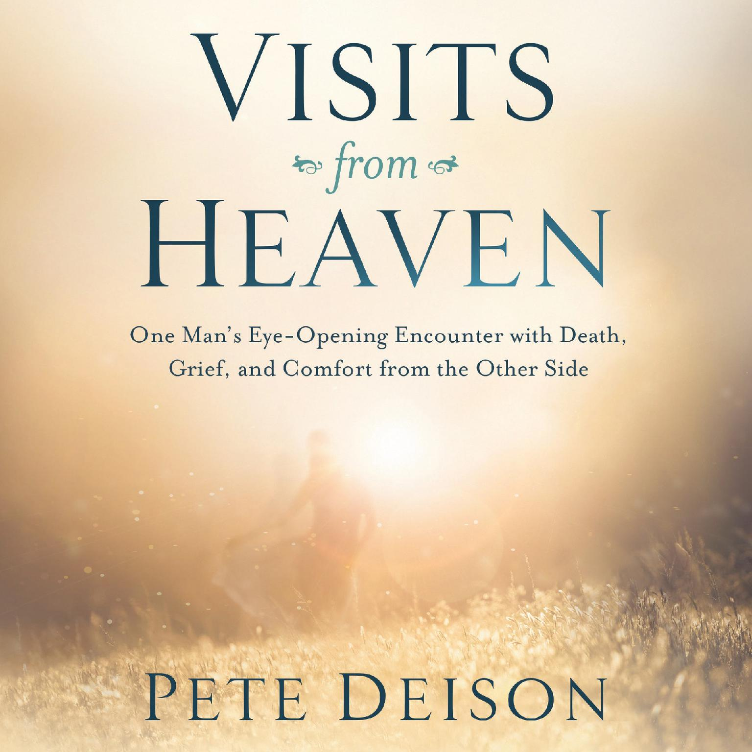 Printable Visits From Heaven: One Man's Eye-Opening Encounter with Death, Grief, and Comfort from the Other Side Audiobook Cover Art