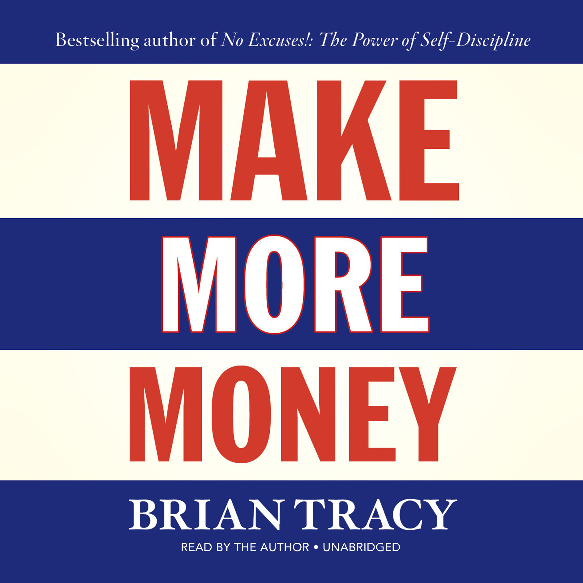 Printable Make More Money Audiobook Cover Art