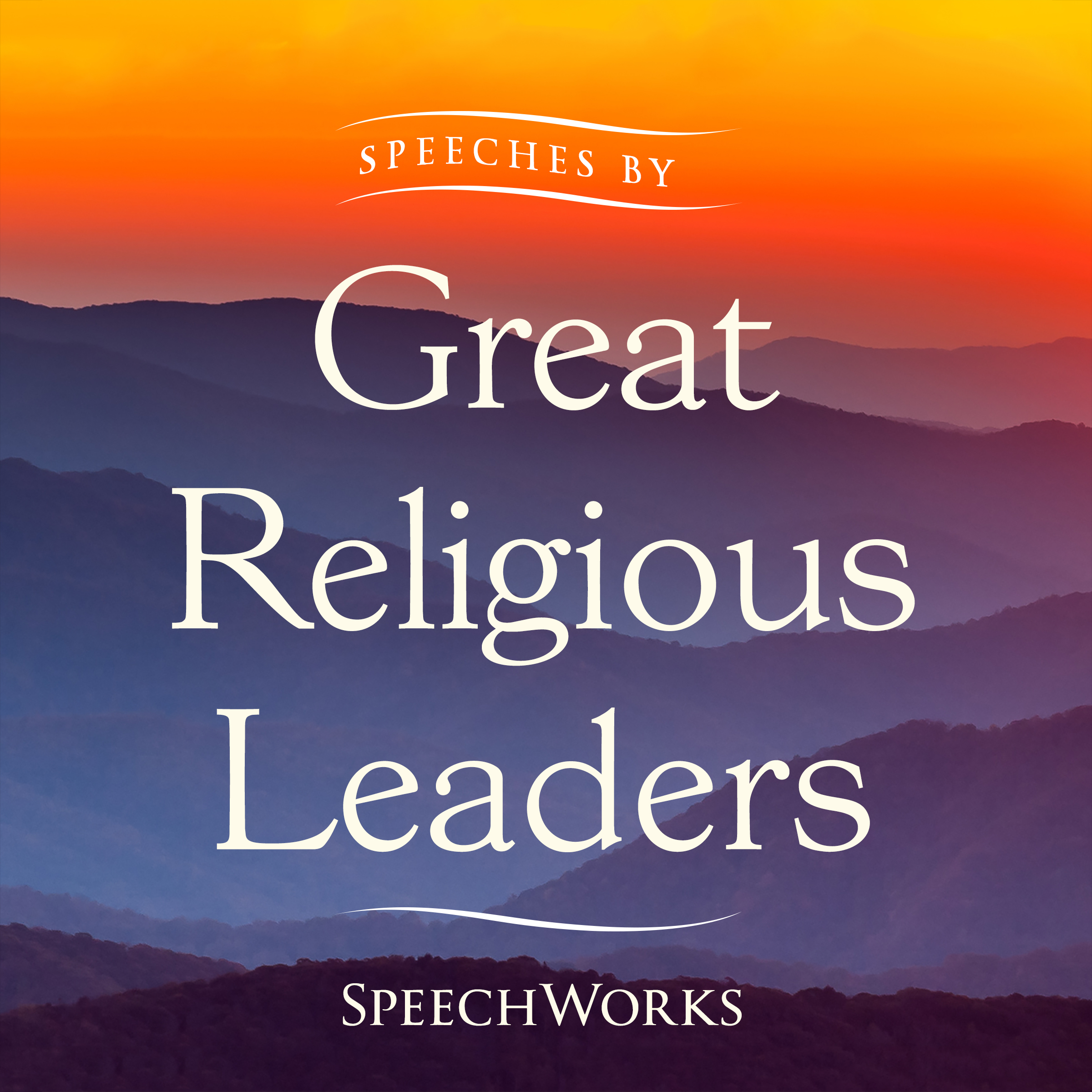 Printable Speeches by Great Religious Leaders  Audiobook Cover Art