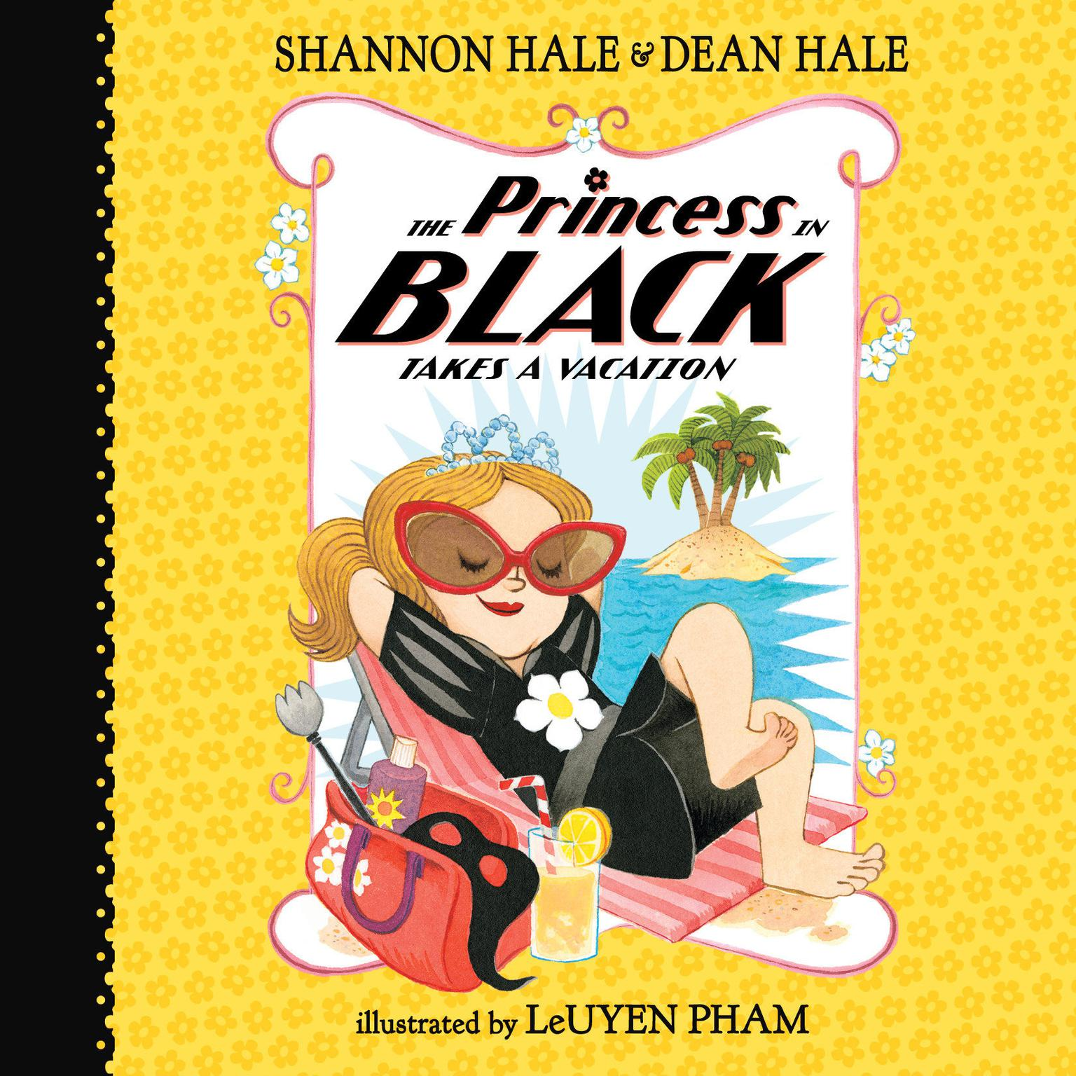 Printable The Princess in Black Takes a Vacation, Book #4 Audiobook Cover Art