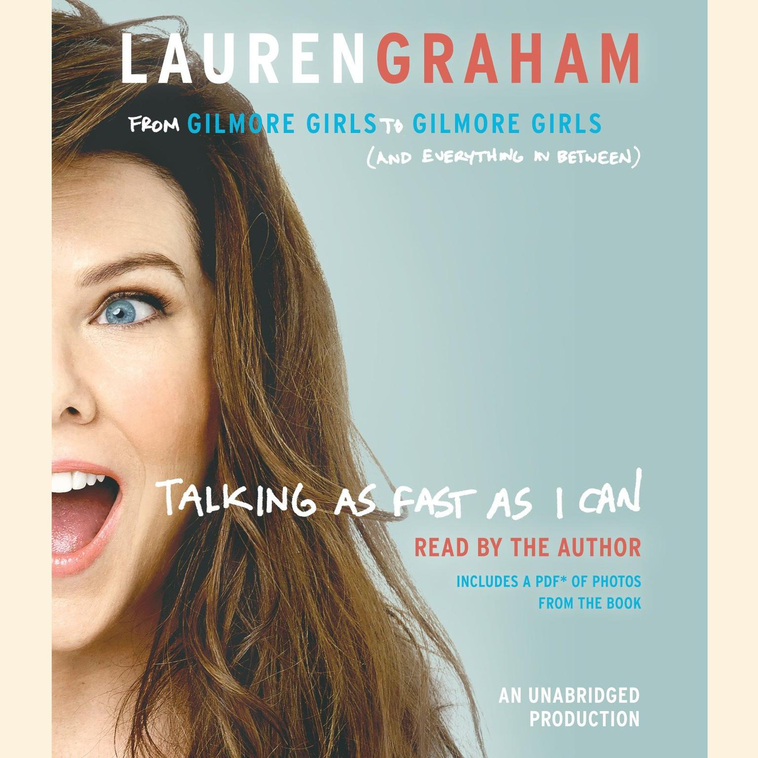 Printable Talking as Fast as I Can: From Gilmore Girls to Gilmore Girls (and Everything in Between) Audiobook Cover Art