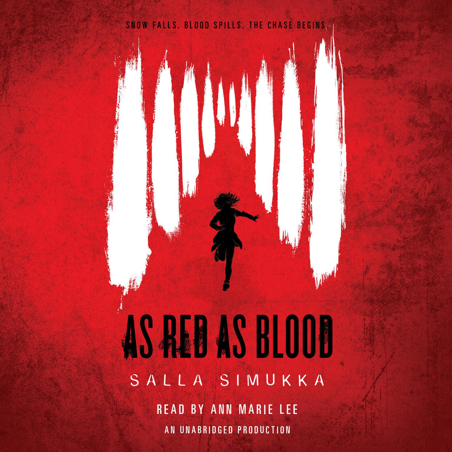 Printable As Red As Blood Audiobook Cover Art
