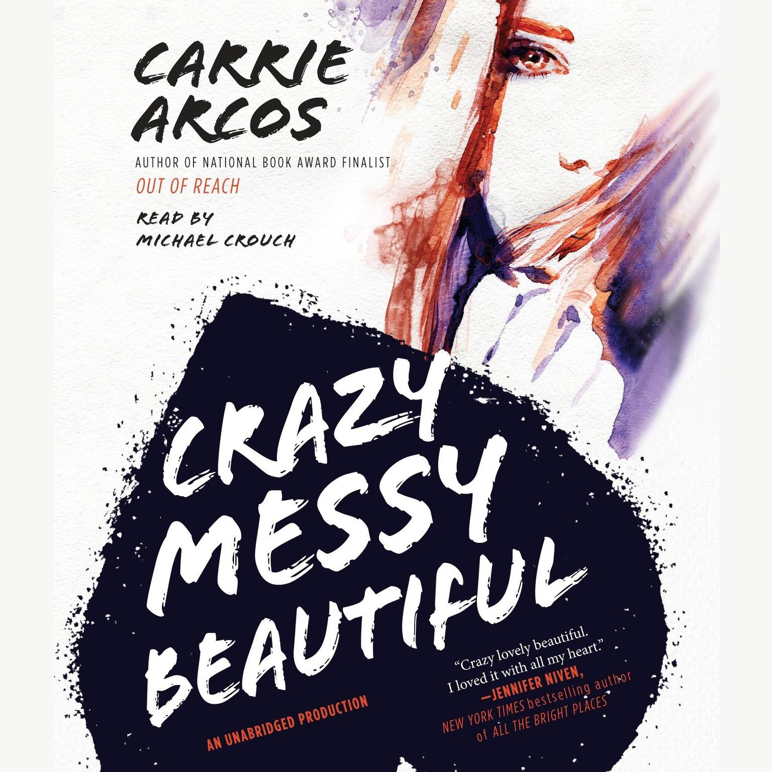 Printable Crazy Messy Beautiful Audiobook Cover Art