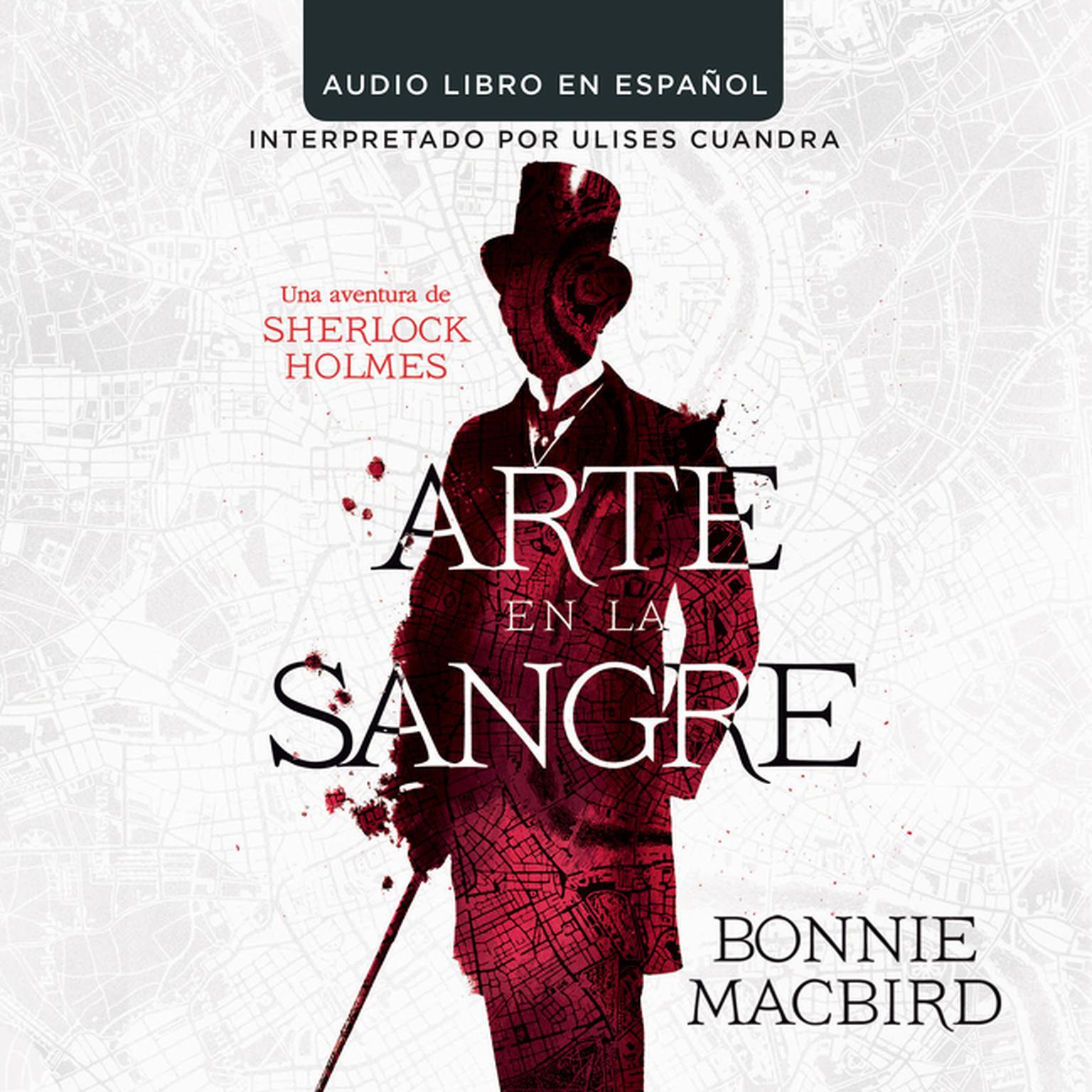 Printable Arte en la sangre: Una aventura de Sherlock Holmes Audiobook Cover Art