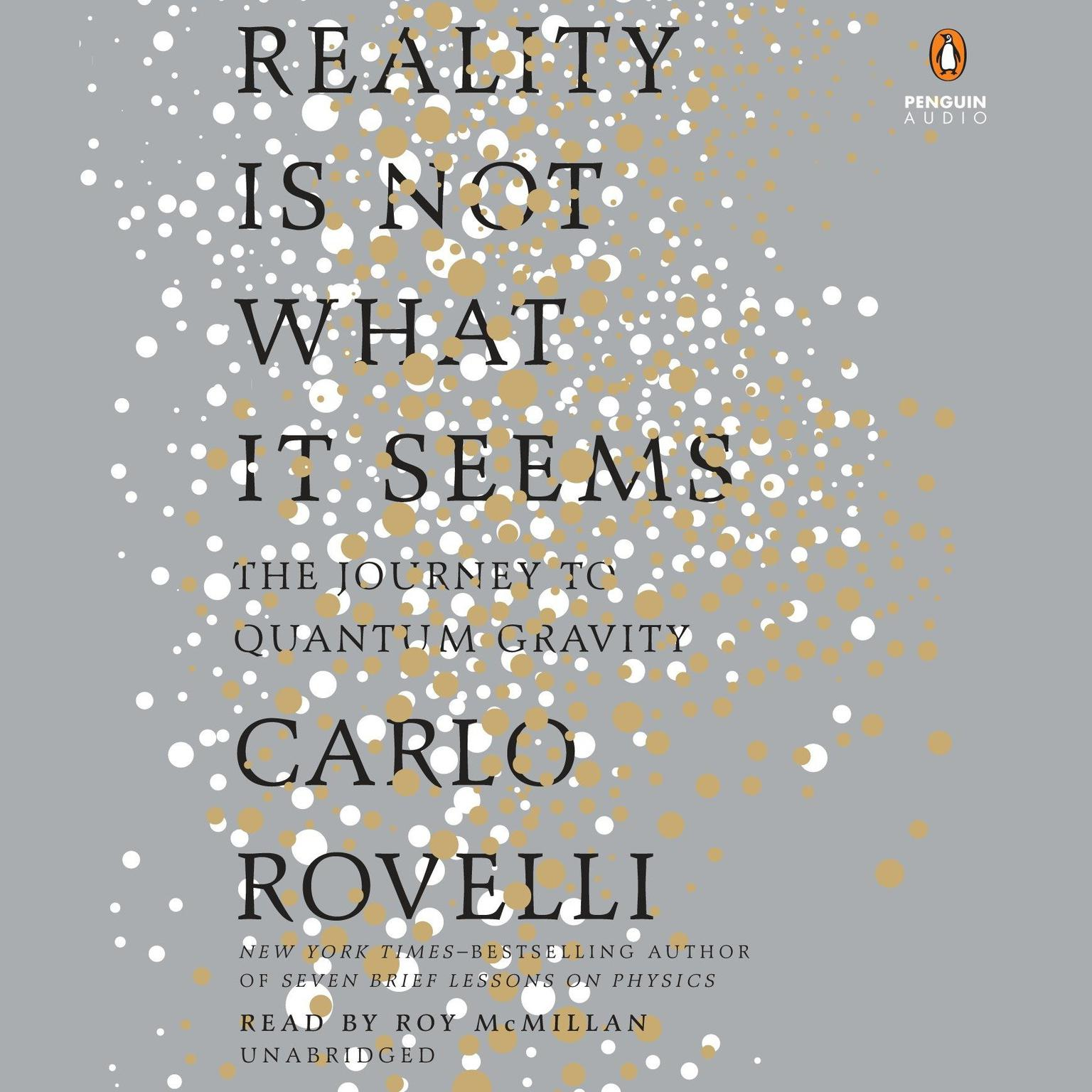 Printable Reality Is Not What It Seems: The Journey to Quantum Gravity Audiobook Cover Art