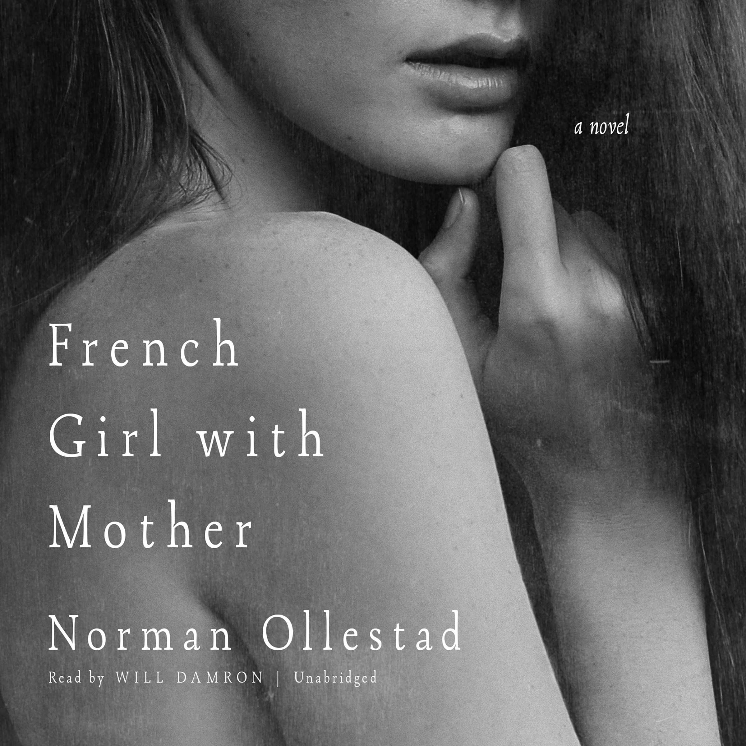 Printable French Girl with Mother: A Novel Audiobook Cover Art