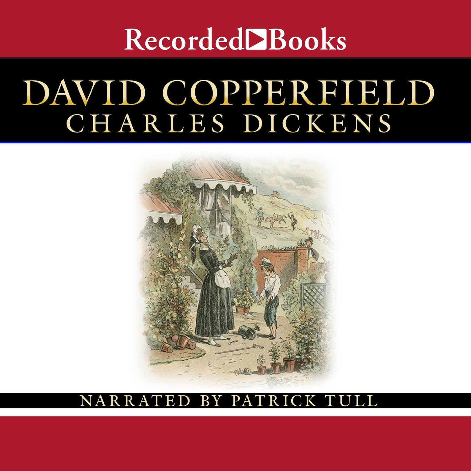 Printable David Copperfield: Part 1 and 2 Audiobook Cover Art