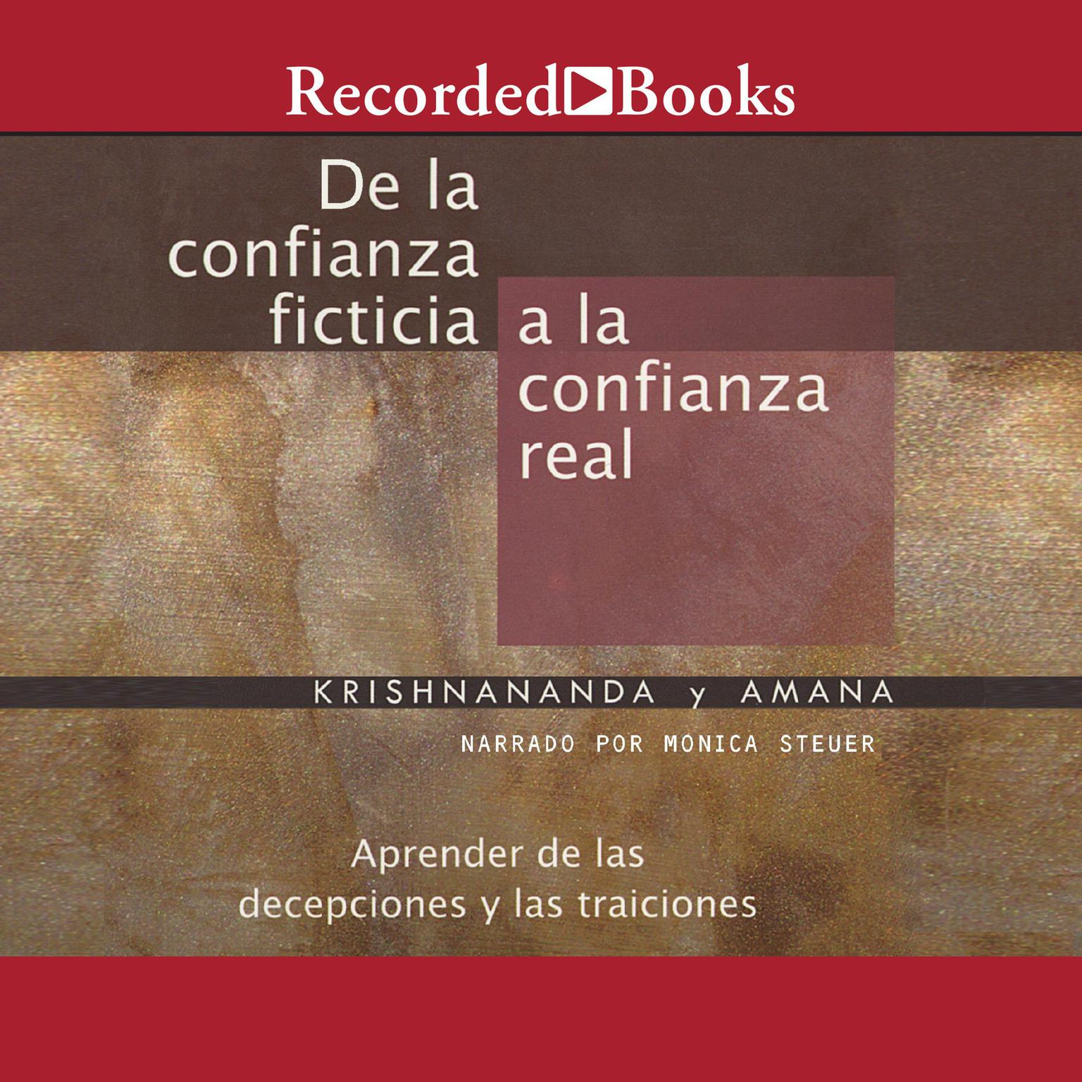 Printable De la confianza ficticia a la confianza real Audiobook Cover Art