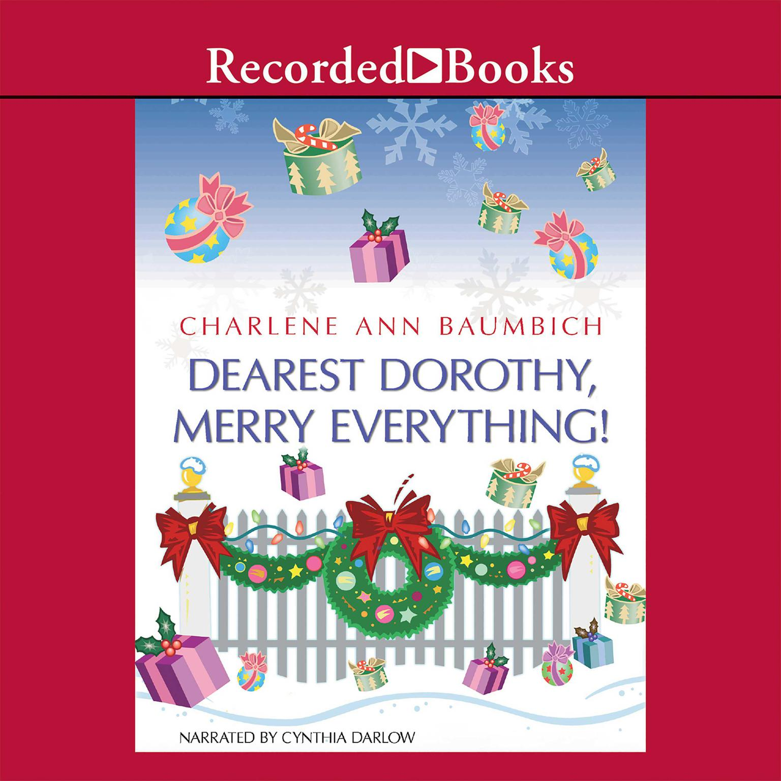 Printable Dearest Dorothy, Merry Everything! Audiobook Cover Art