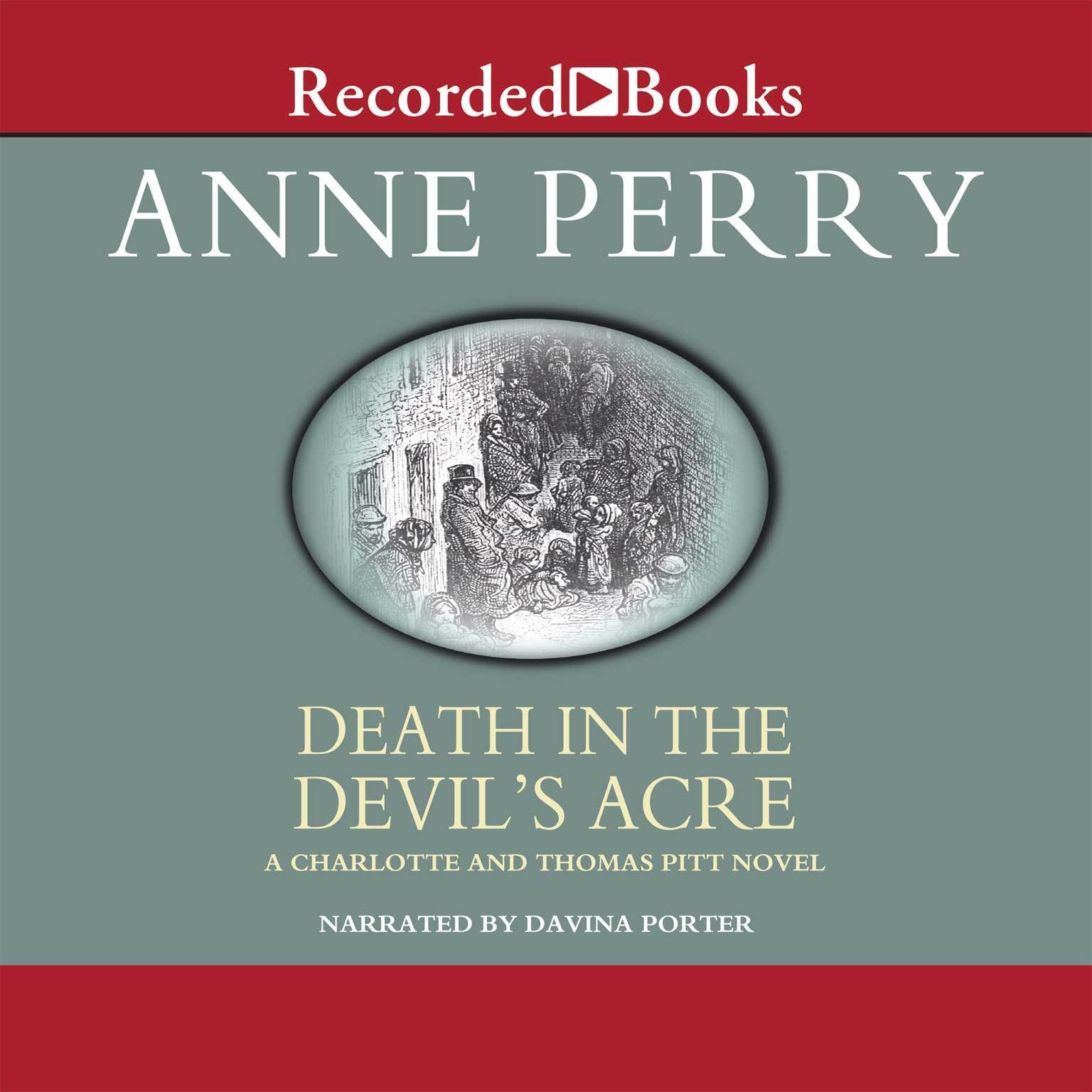 Printable Death in the Devil's Acre Audiobook Cover Art
