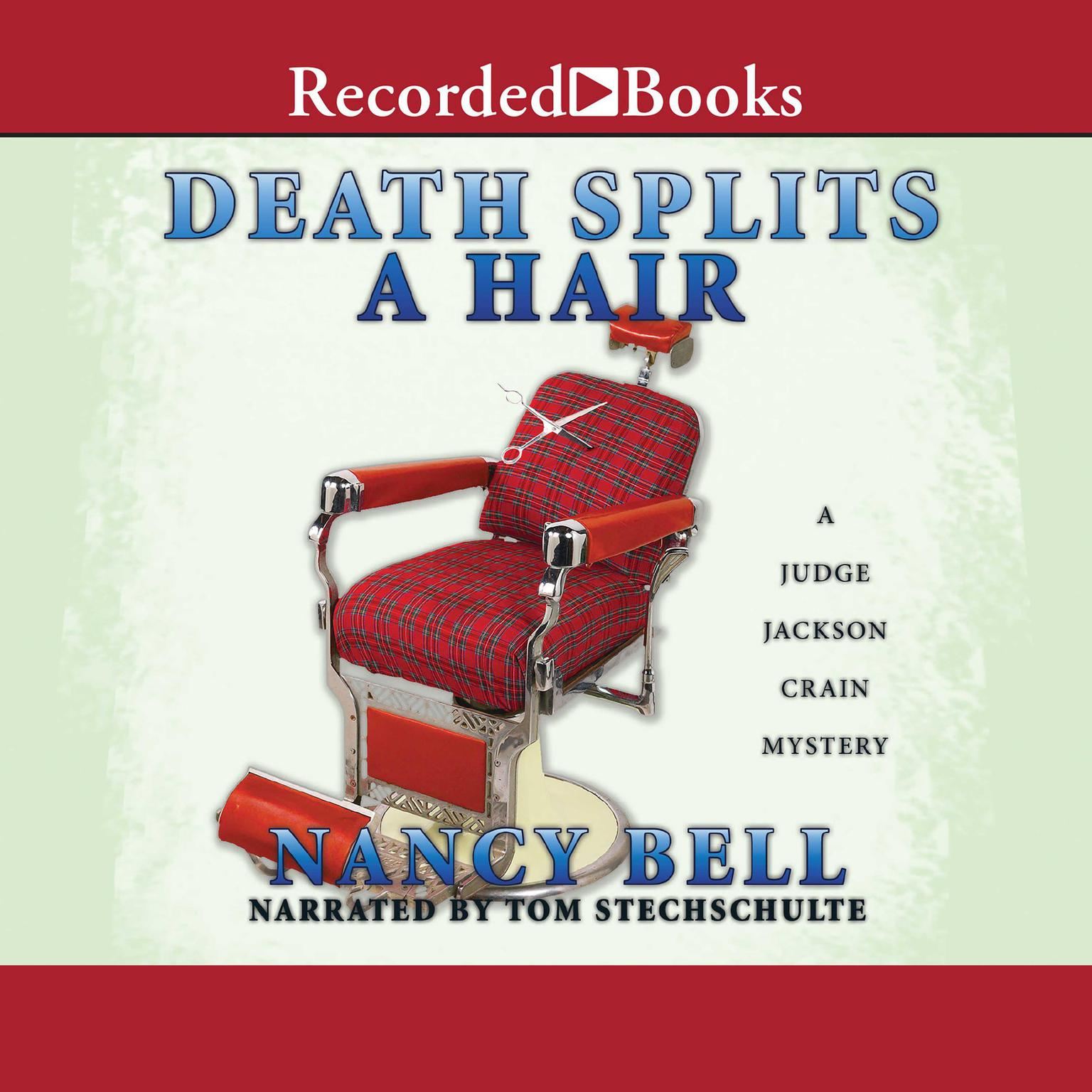 Printable Death Splits a Hair Audiobook Cover Art