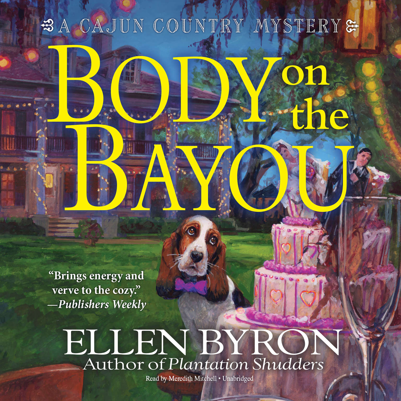 Printable Body on the Bayou: A Cajun Country Mystery Audiobook Cover Art