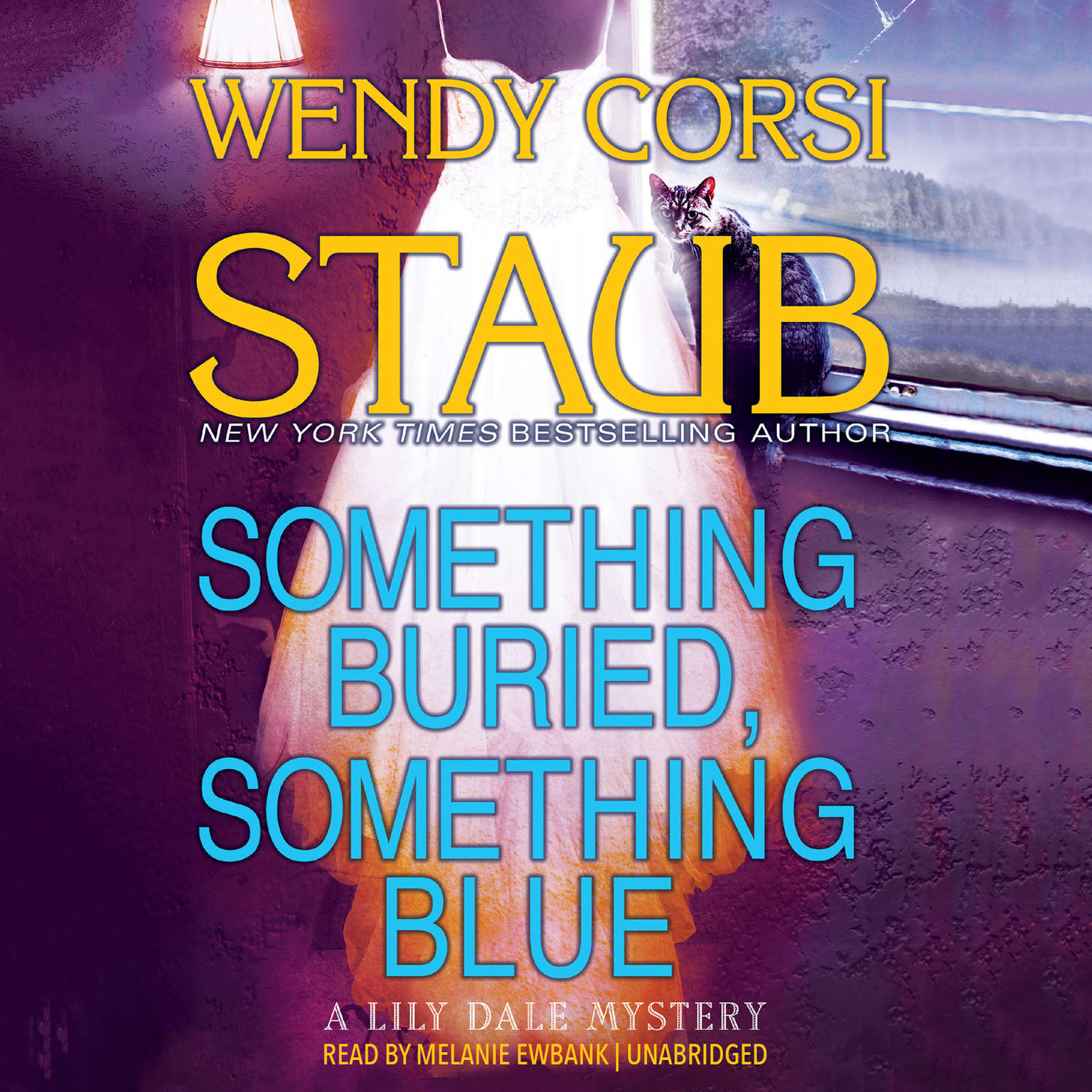 Printable Something Buried, Something Blue: A Lily Dale Mystery Audiobook Cover Art
