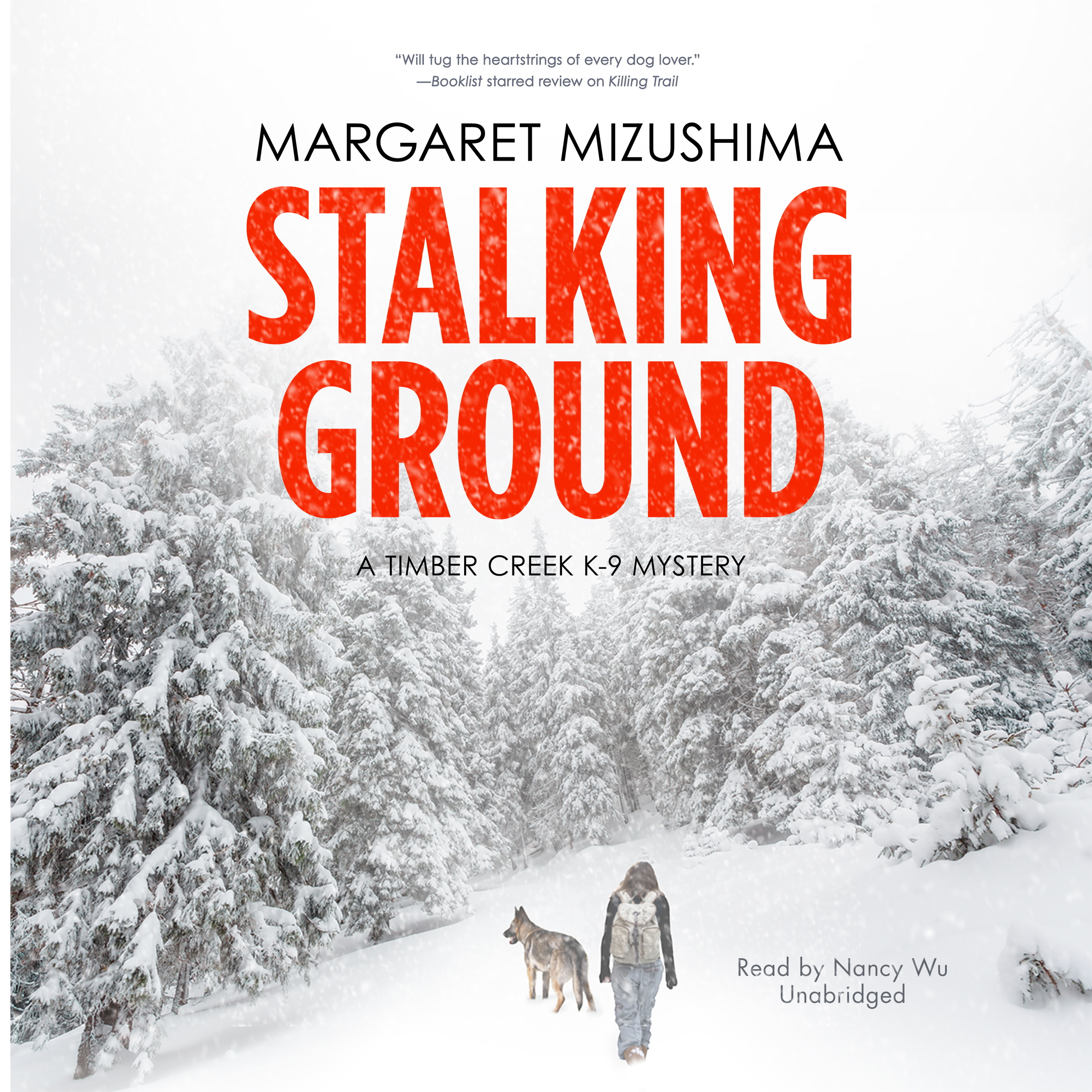 Printable Stalking Ground: A Timber Creek K-9 Mystery Audiobook Cover Art