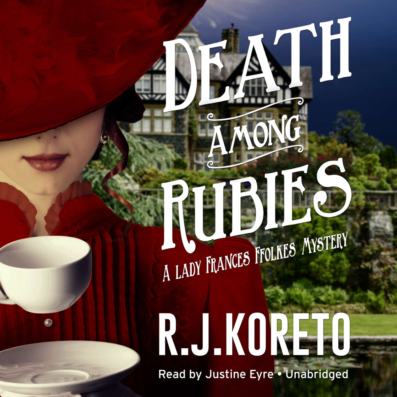 Printable Death among Rubies: A Lady Frances Ffolkes Mystery Audiobook Cover Art