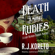 Death among Rubies: A Lady Frances Ffolkes Mystery Audiobook, by R. J.  Koreto
