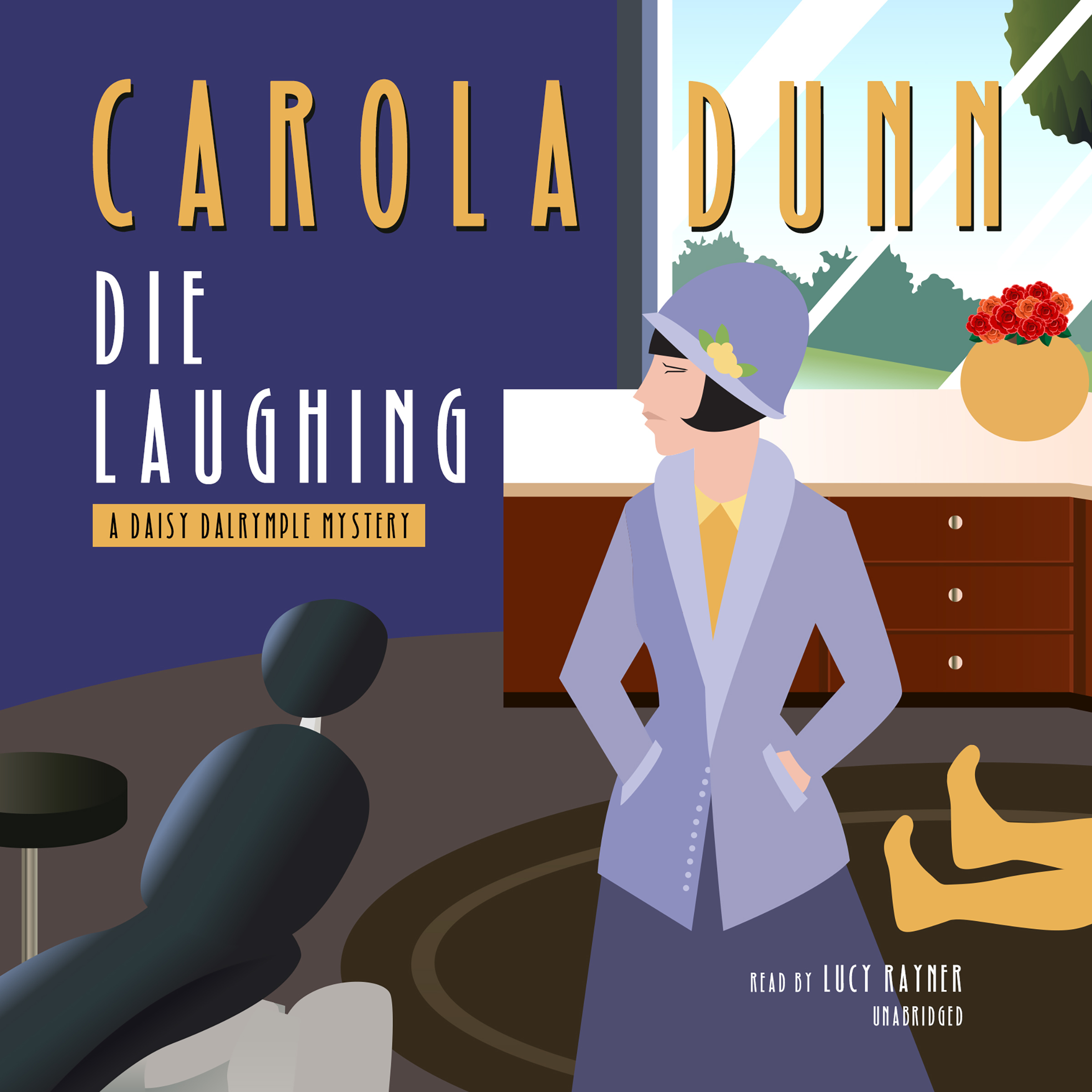 Printable Die Laughing: A Daisy Dalrymple Mystery Audiobook Cover Art